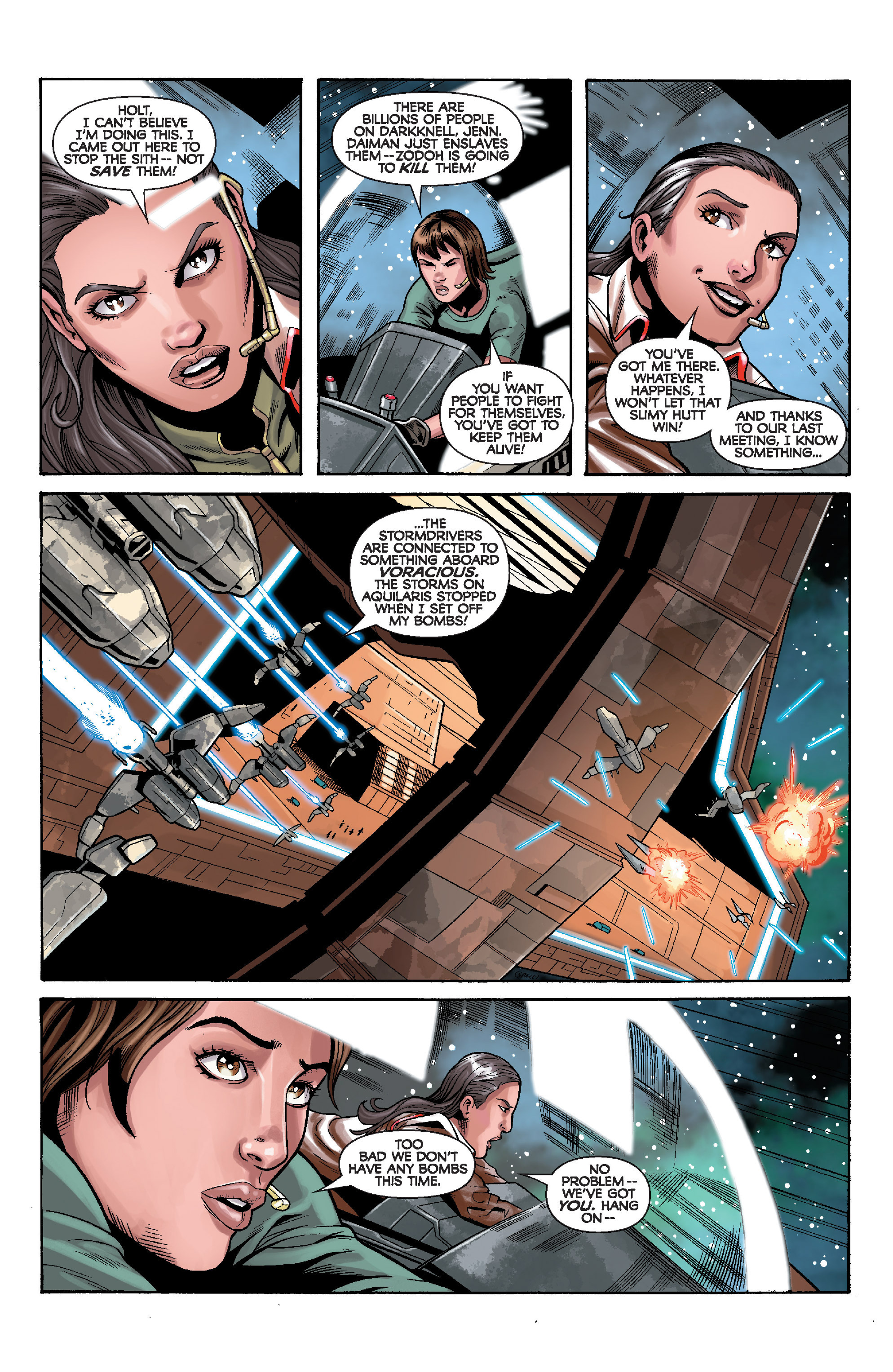 Read online Star Wars: Knight Errant - Deluge comic -  Issue #5 - 7