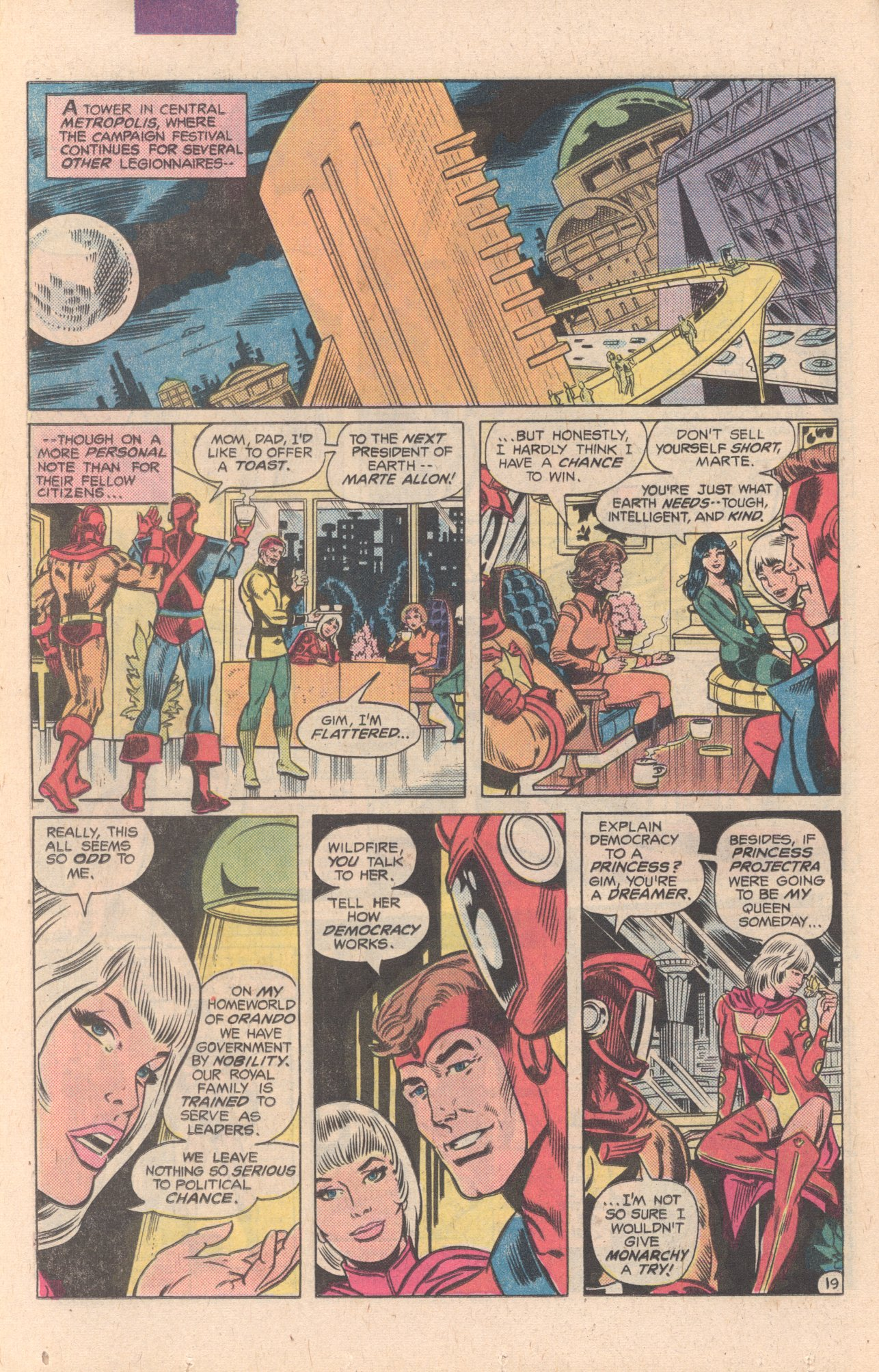 Legion of Super-Heroes (1980) 269 Page 20