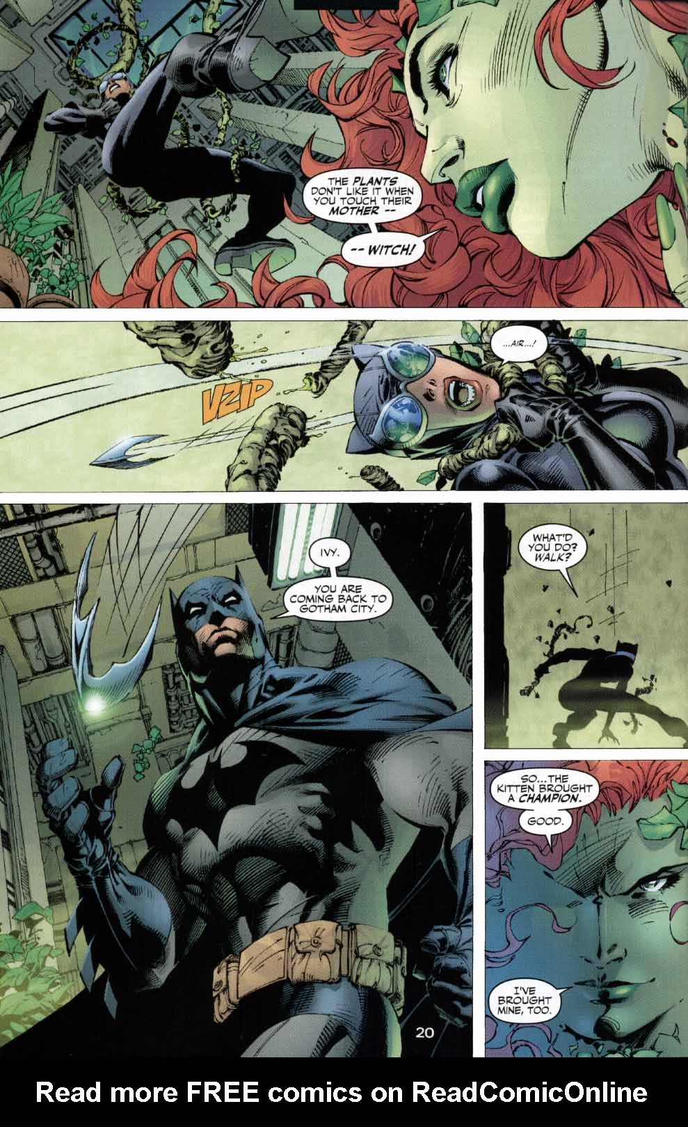 Read online Batman: Hush comic -  Issue #4 - 19