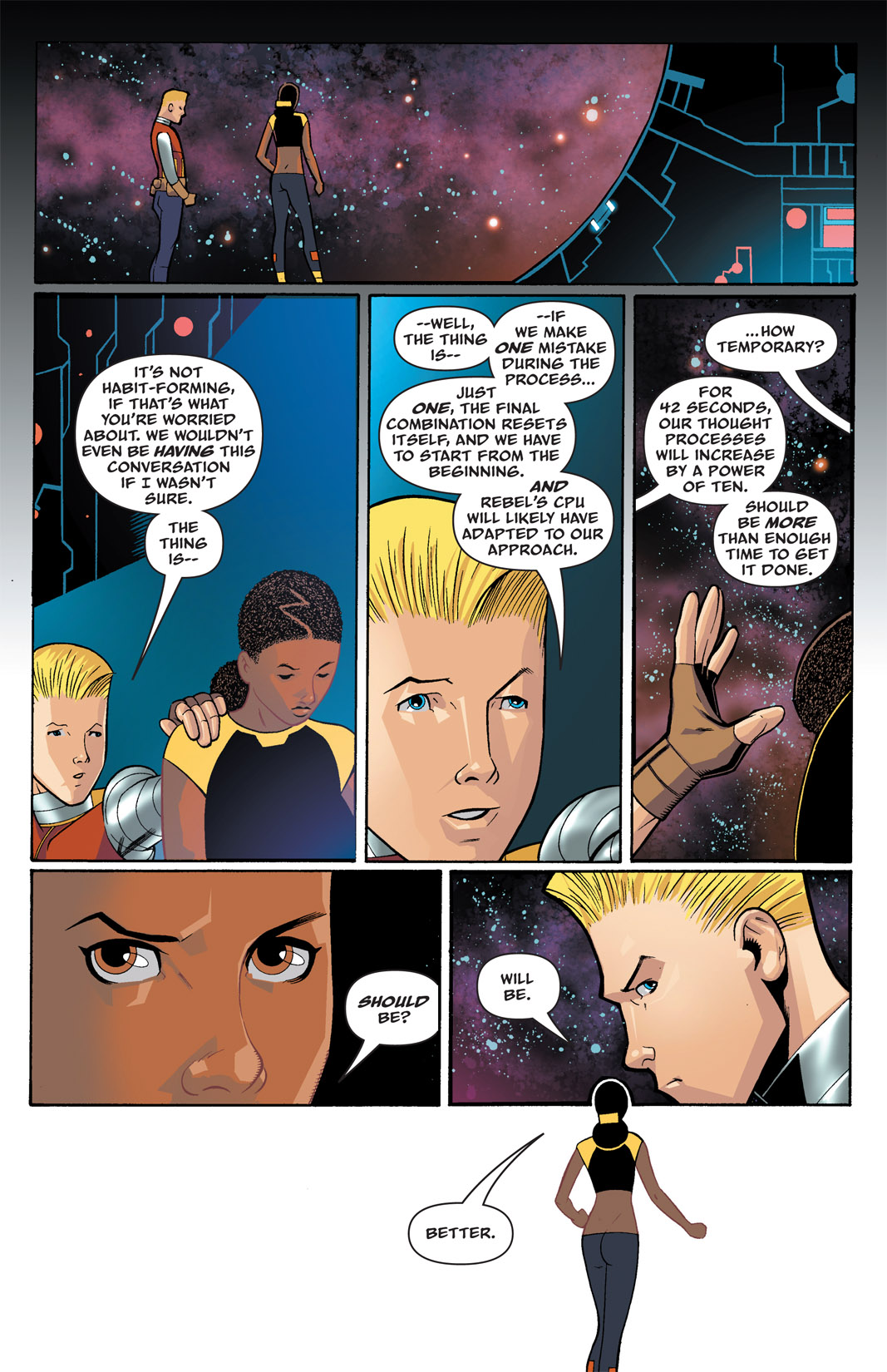 Read online The Many Adventures of Miranda Mercury: Time Runs Out comic -  Issue # TPB - 28