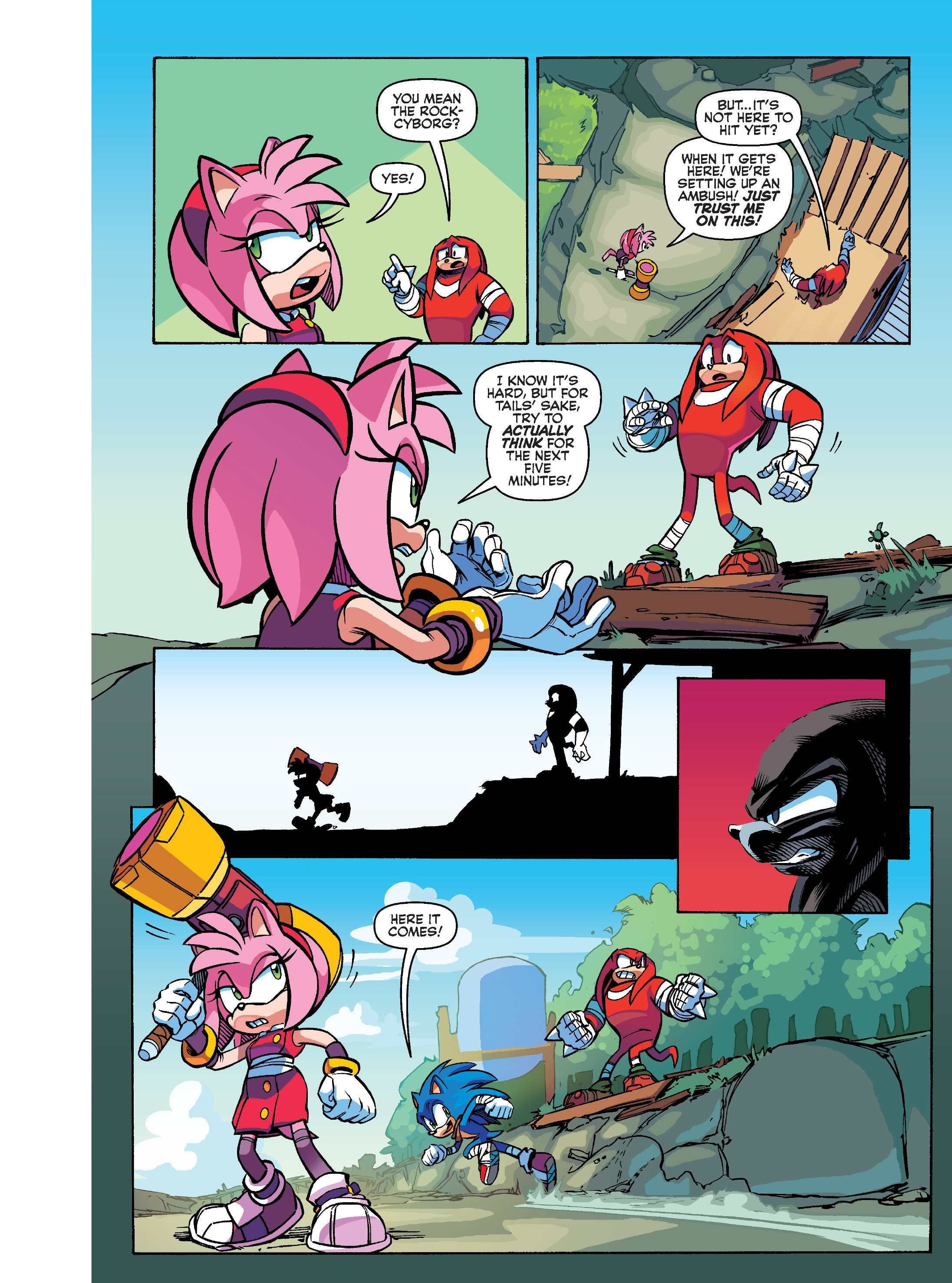 Read online Sonic Super Digest comic -  Issue #10 - 18