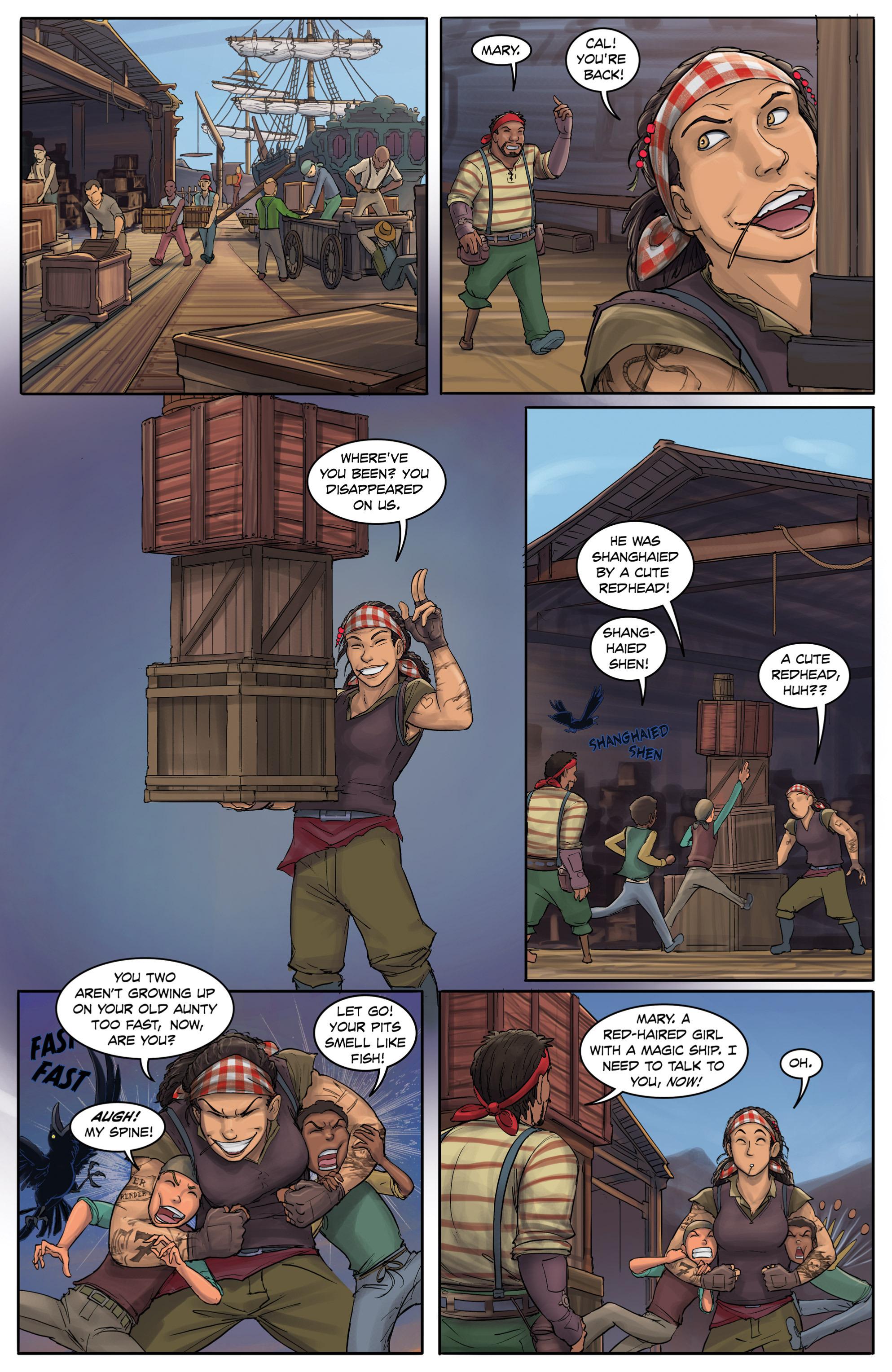 Read online Anne Bonnie comic -  Issue #4 - 23