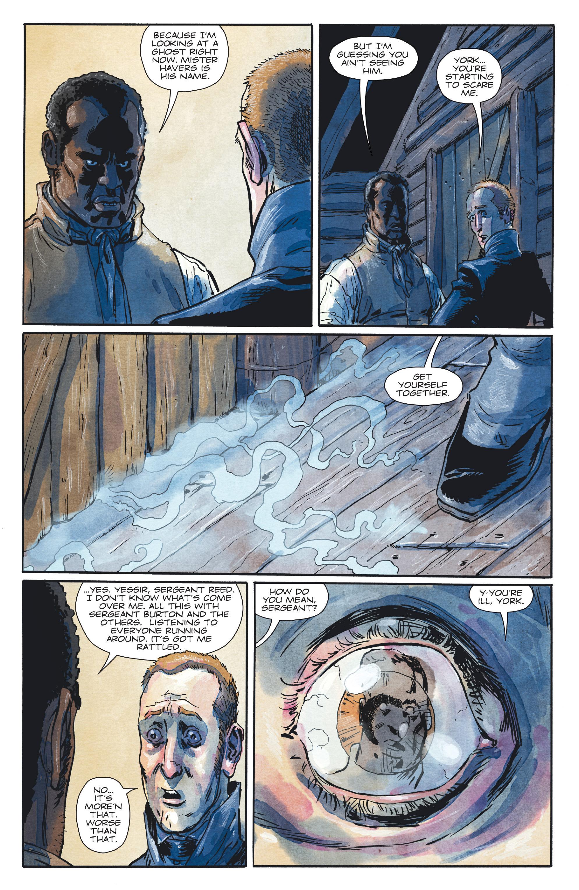 Read online Manifest Destiny comic -  Issue #28 - 11