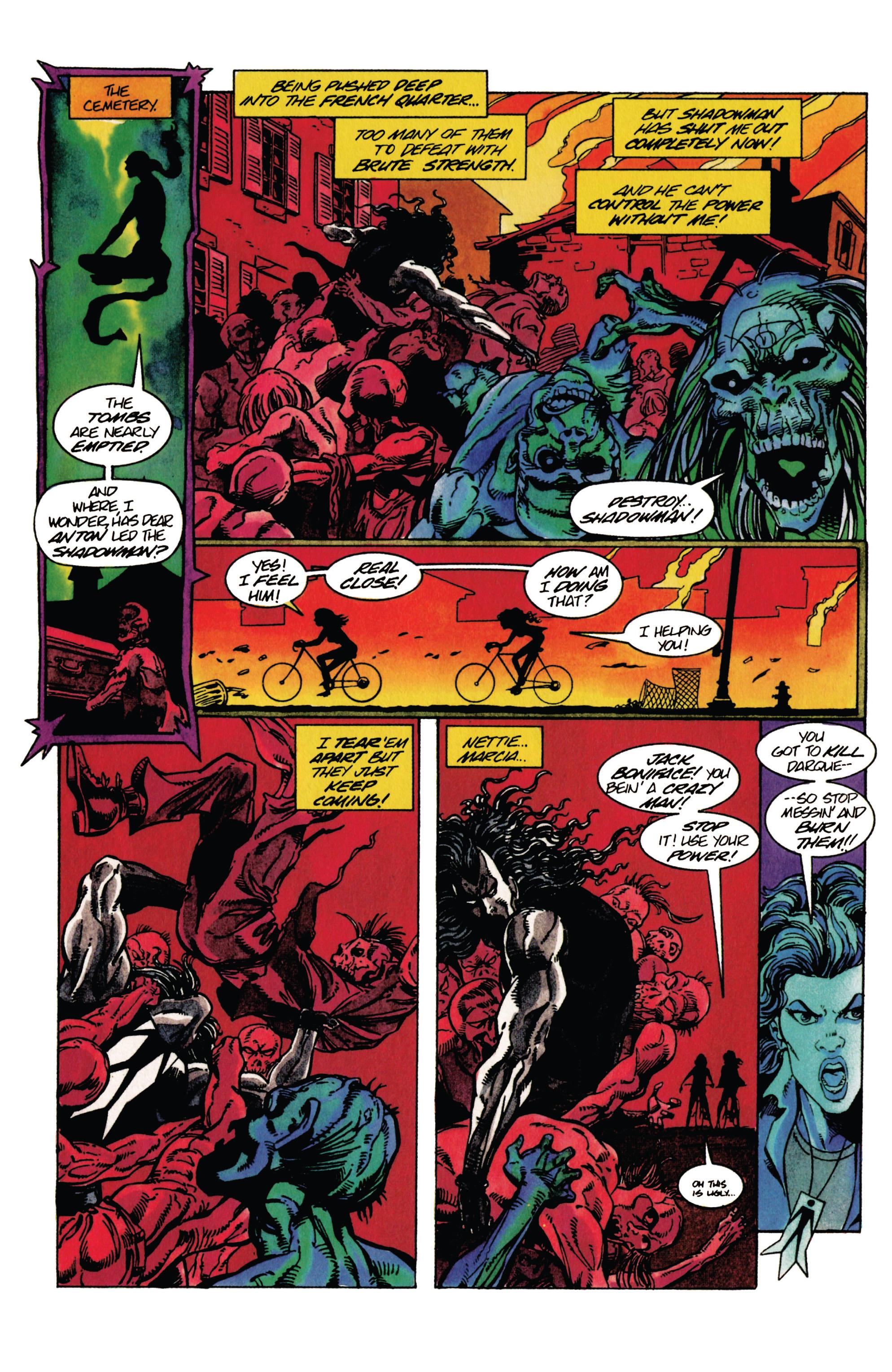 Read online Shadowman (1992) comic -  Issue #29 - 20