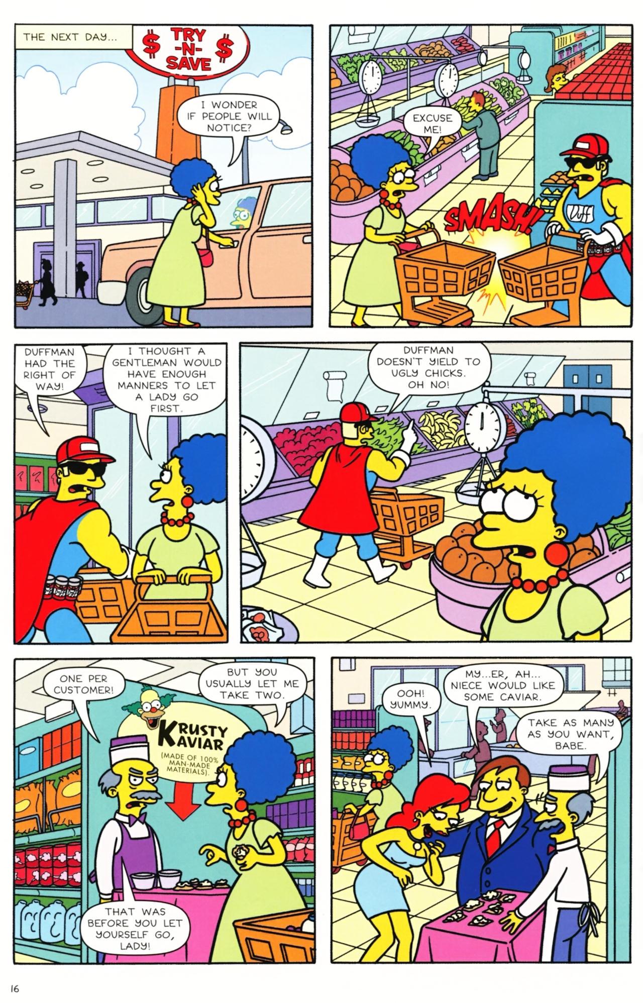 Read online Simpsons Comics comic -  Issue #157 - 13