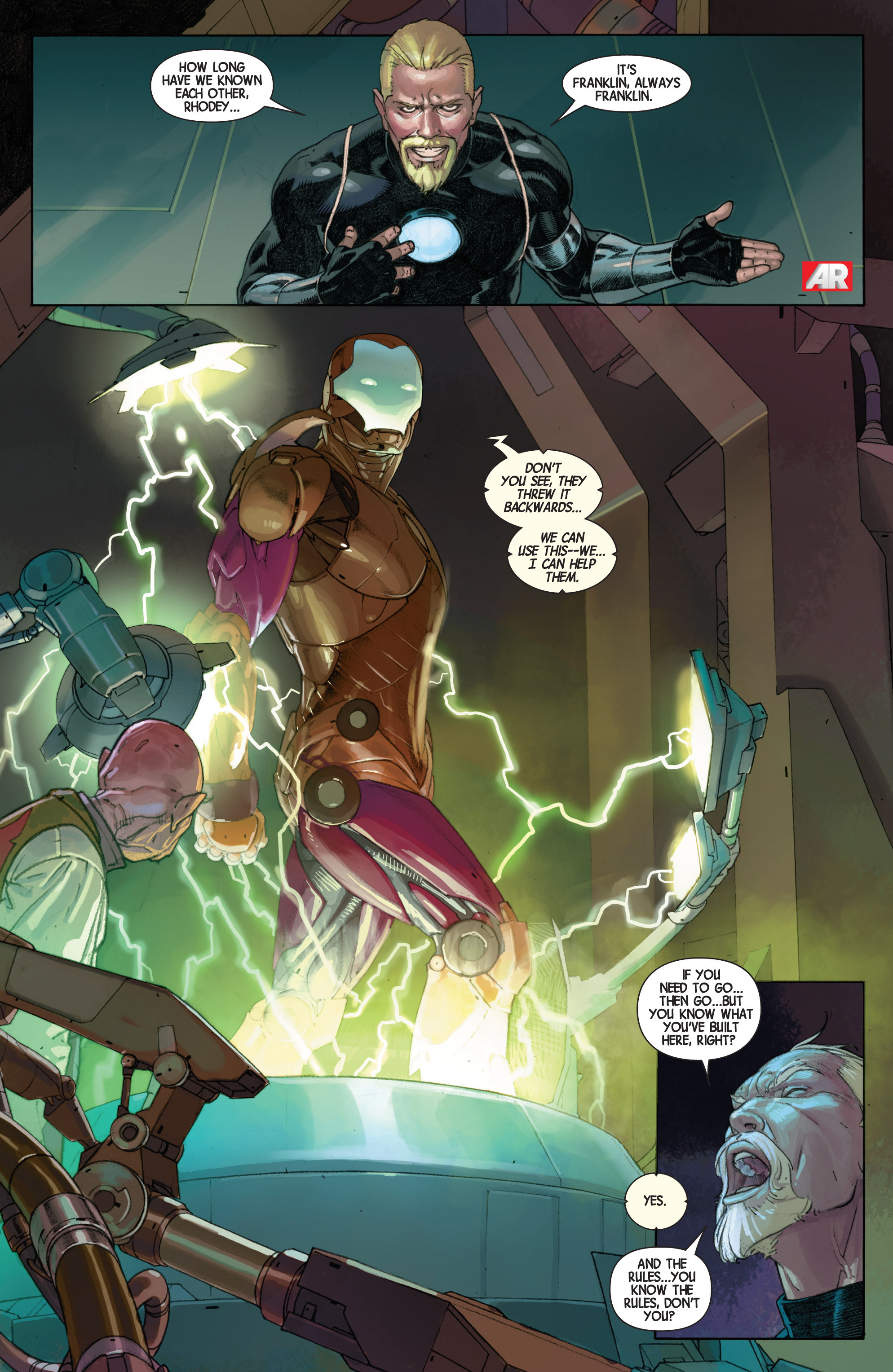 Read online Avengers (2013) comic -  Issue #Avengers (2013) _TPB 5 - 10