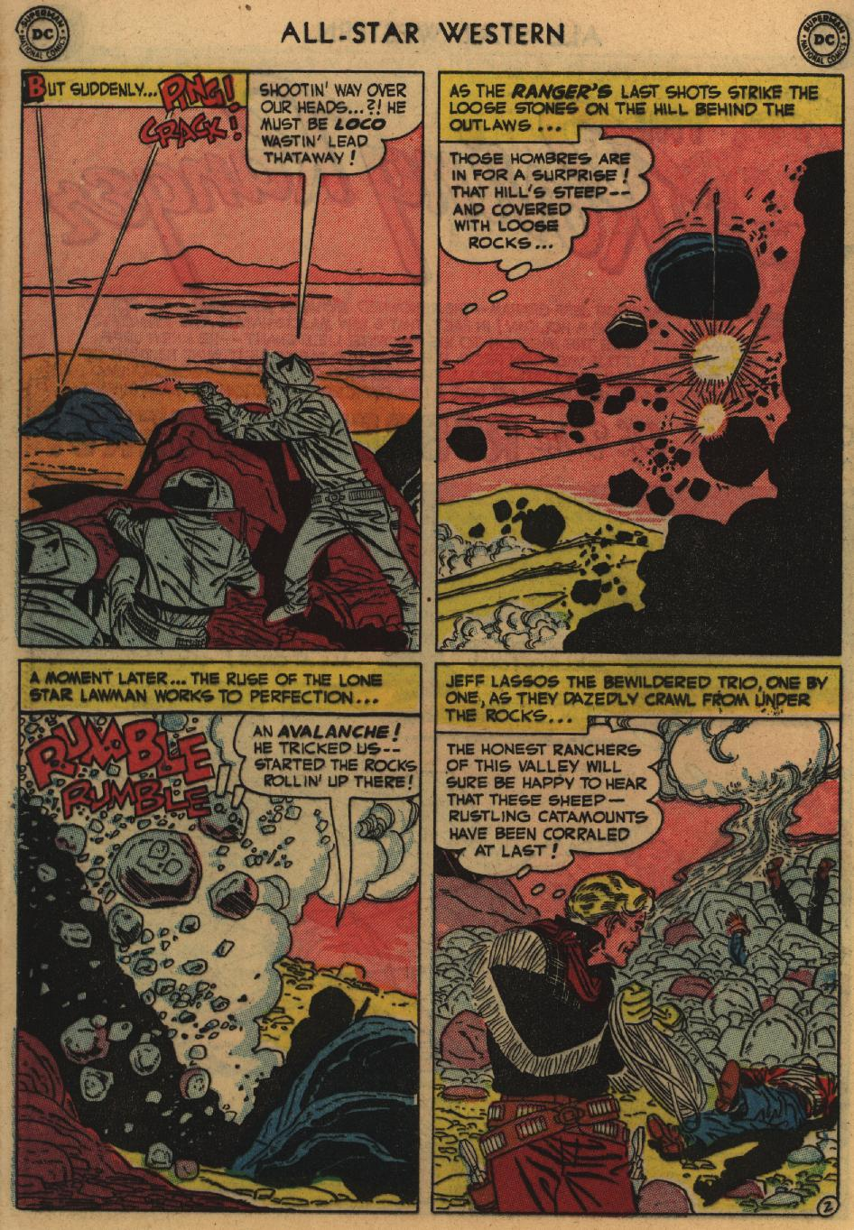 Read online All-Star Western (1951) comic -  Issue #60 - 28