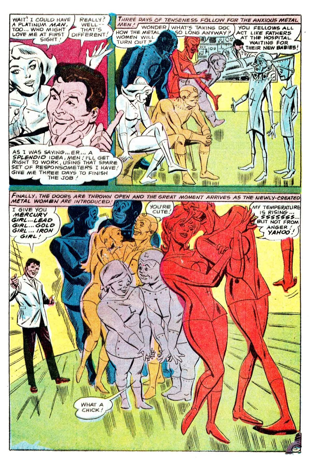Metal Men (1963) issue 32 - Page 5