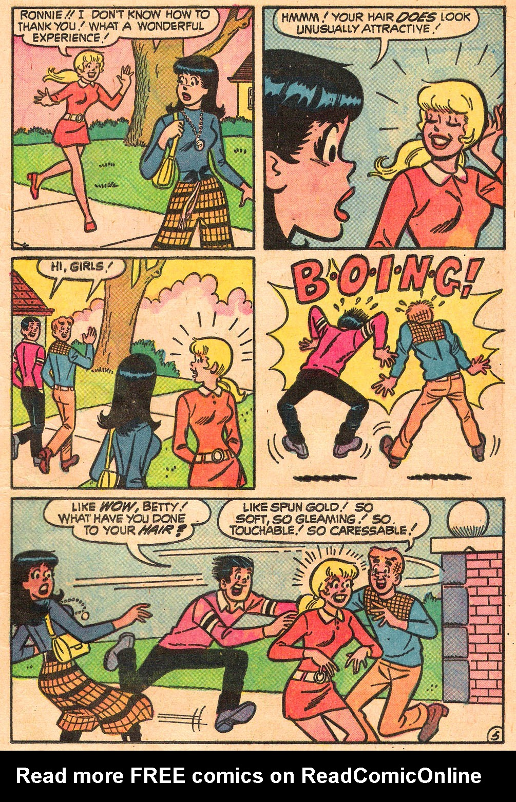 Read online Archie's Girls Betty and Veronica comic -  Issue #211 - 17