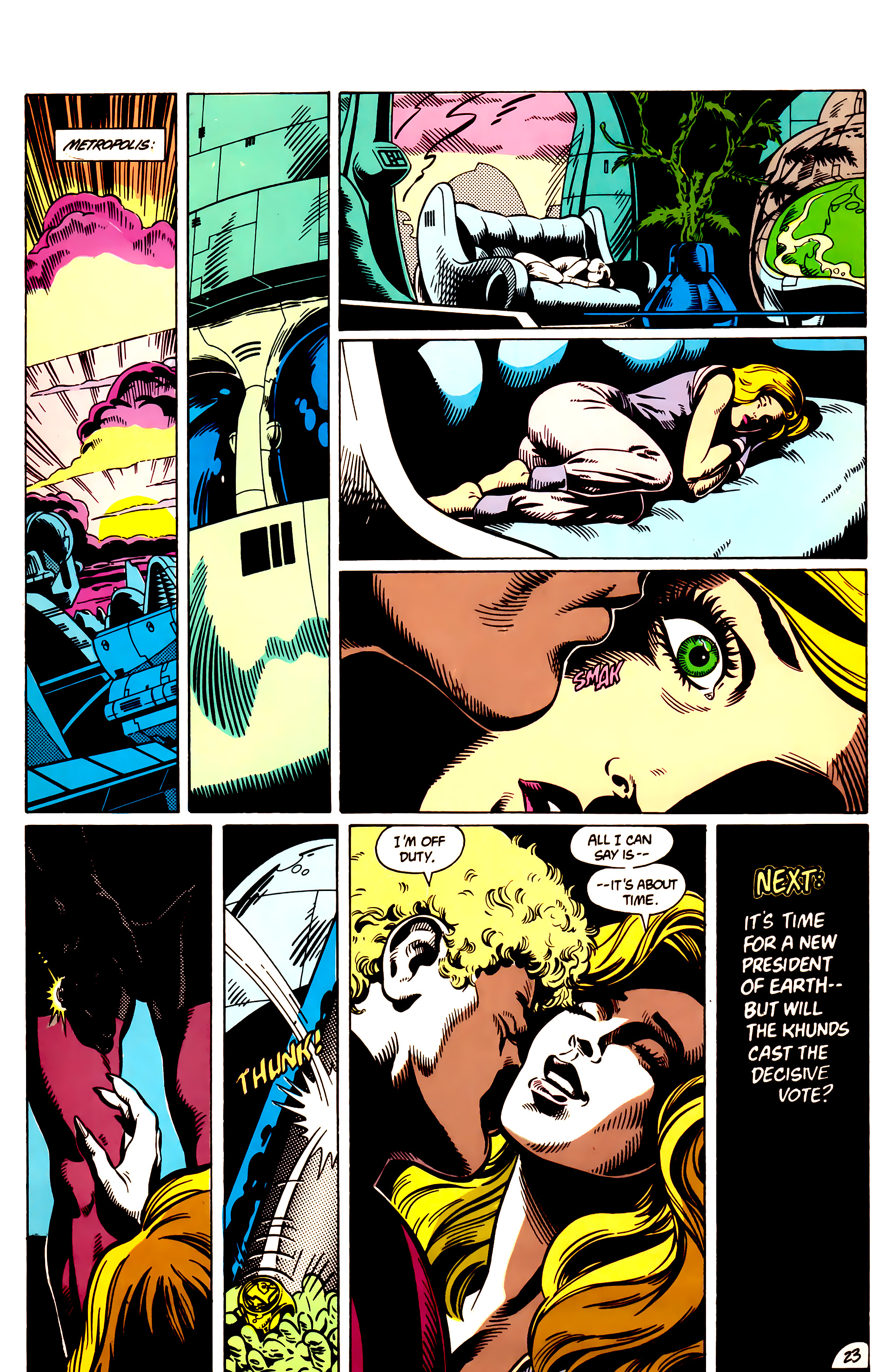 Legion of Super-Heroes (1984) 9 Page 24