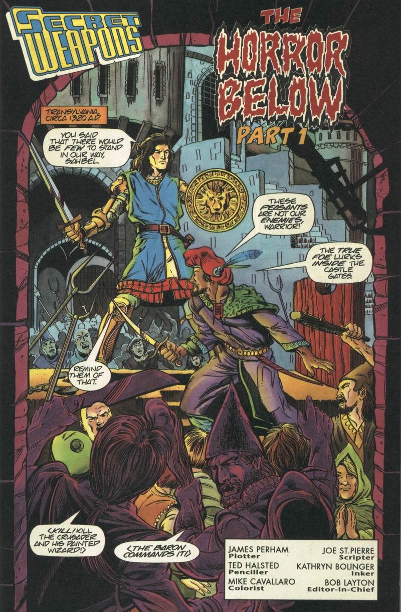 Read online Secret Weapons comic -  Issue #6 - 2