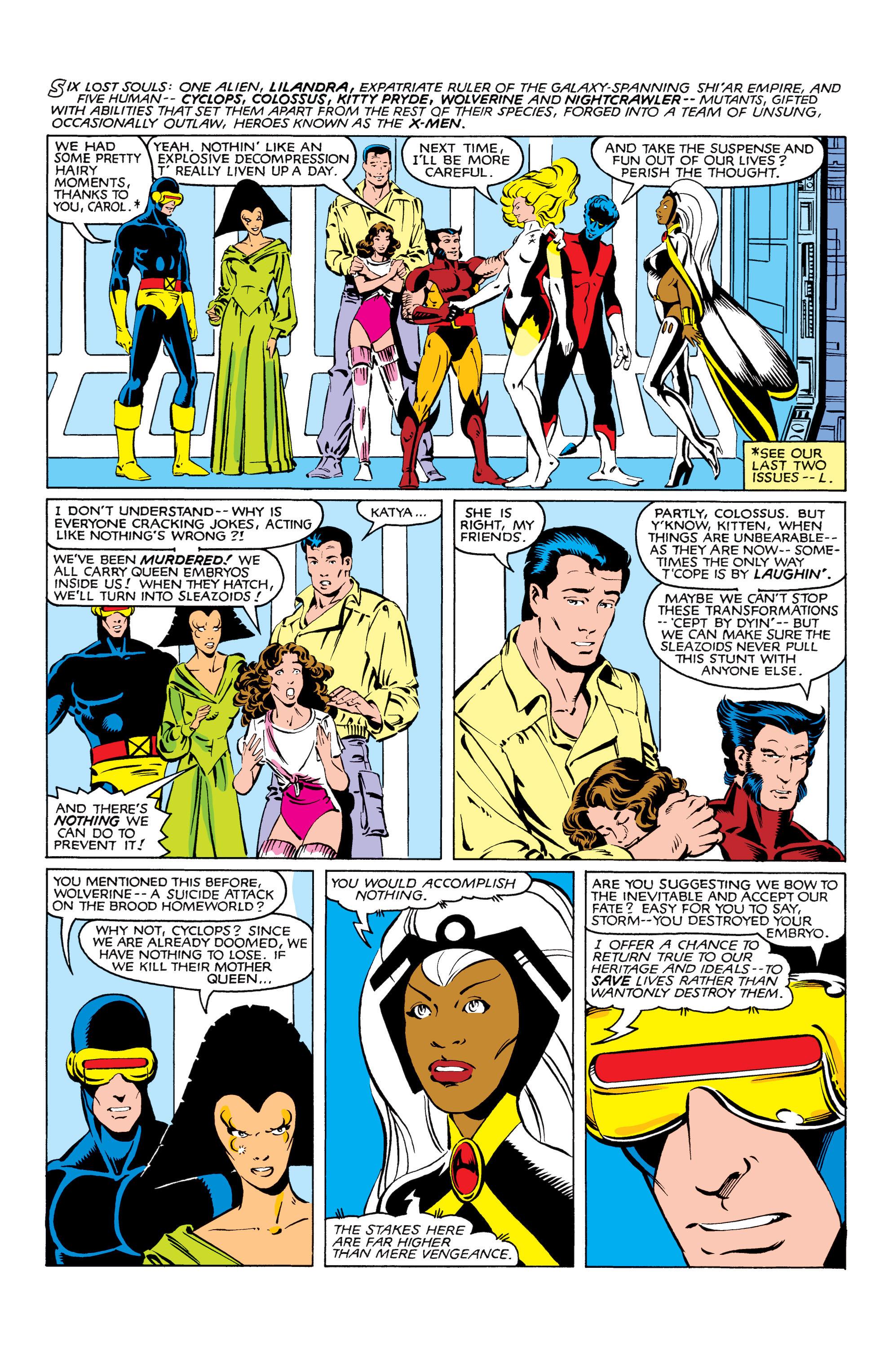 Read online Uncanny X-Men (1963) comic -  Issue #166 - 8