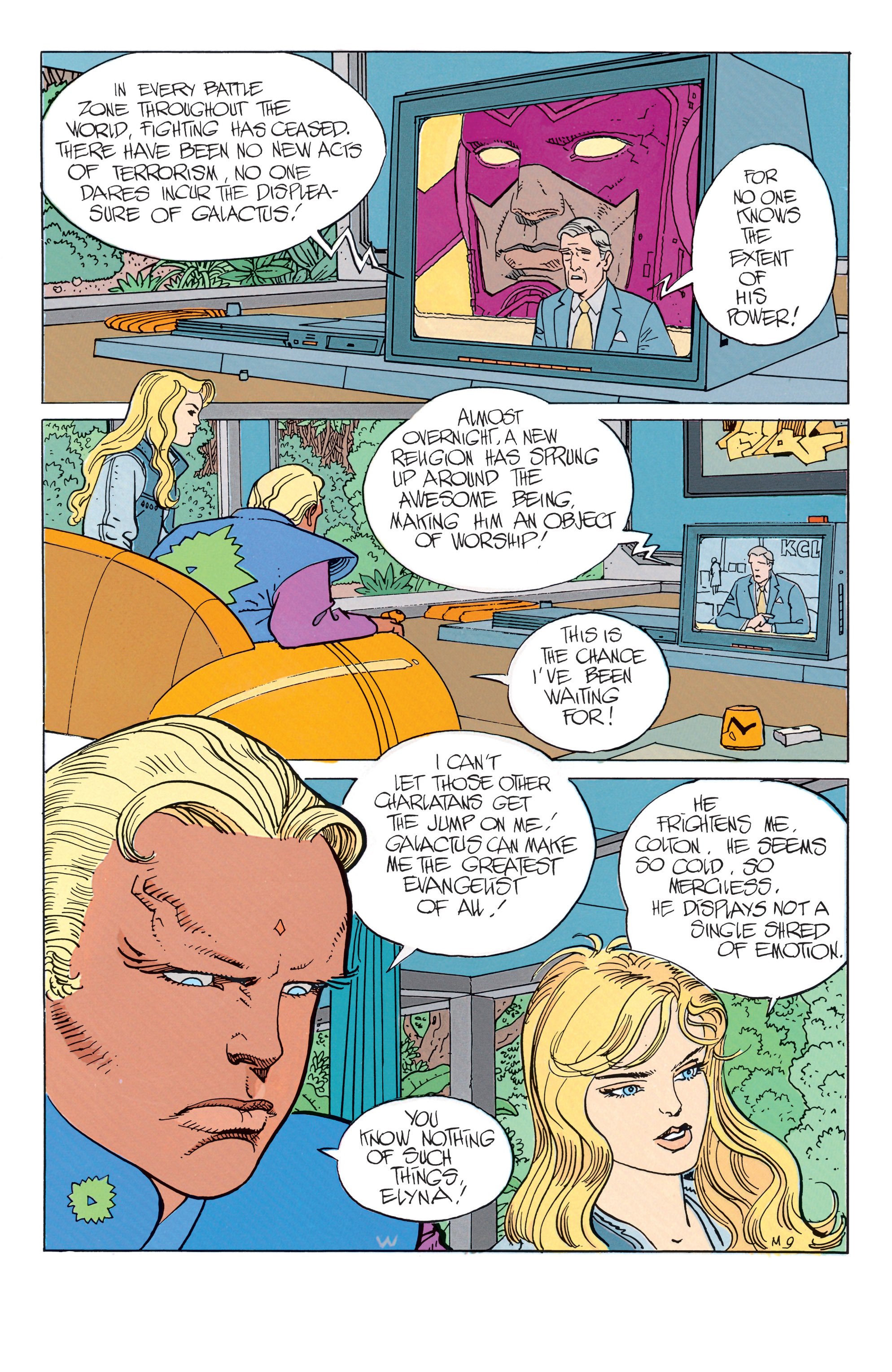 Read online Silver Surfer: Parable comic -  Issue # TPB - 14