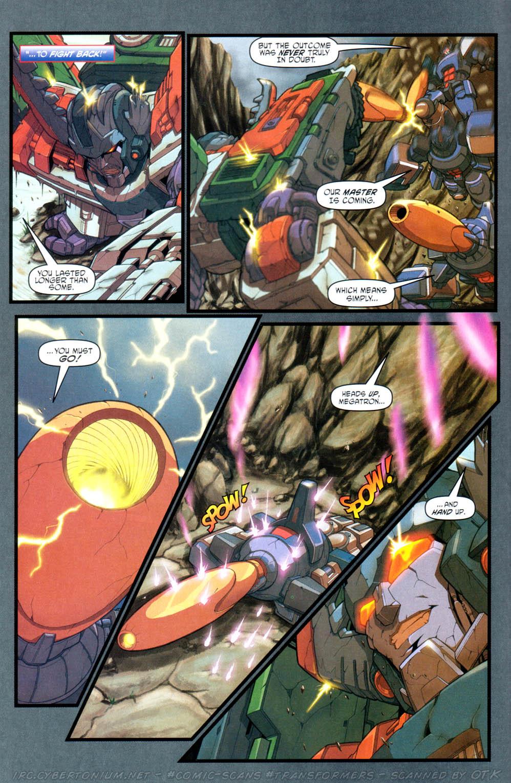 Read online Transformers Armada comic -  Issue #16 - 14
