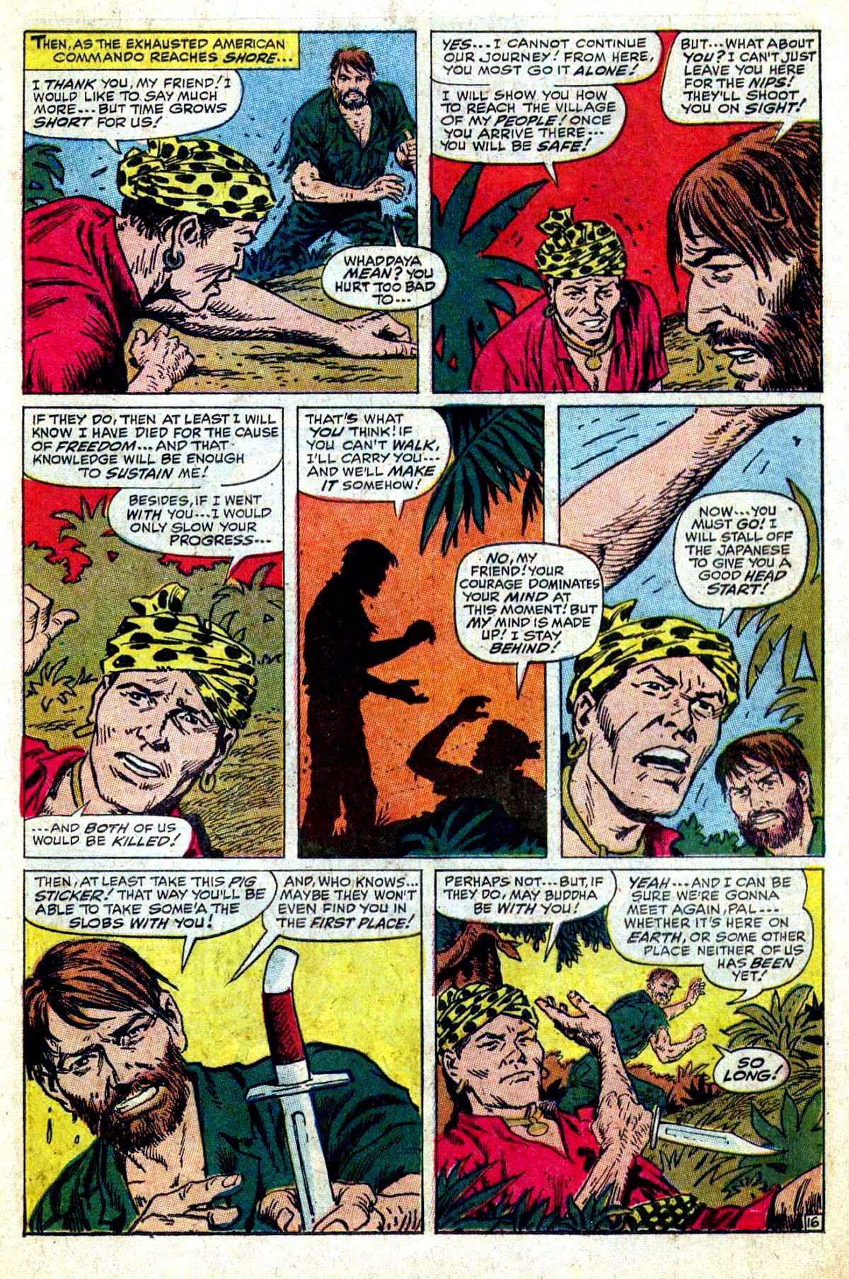 Read online Sgt. Fury comic -  Issue #54 - 23