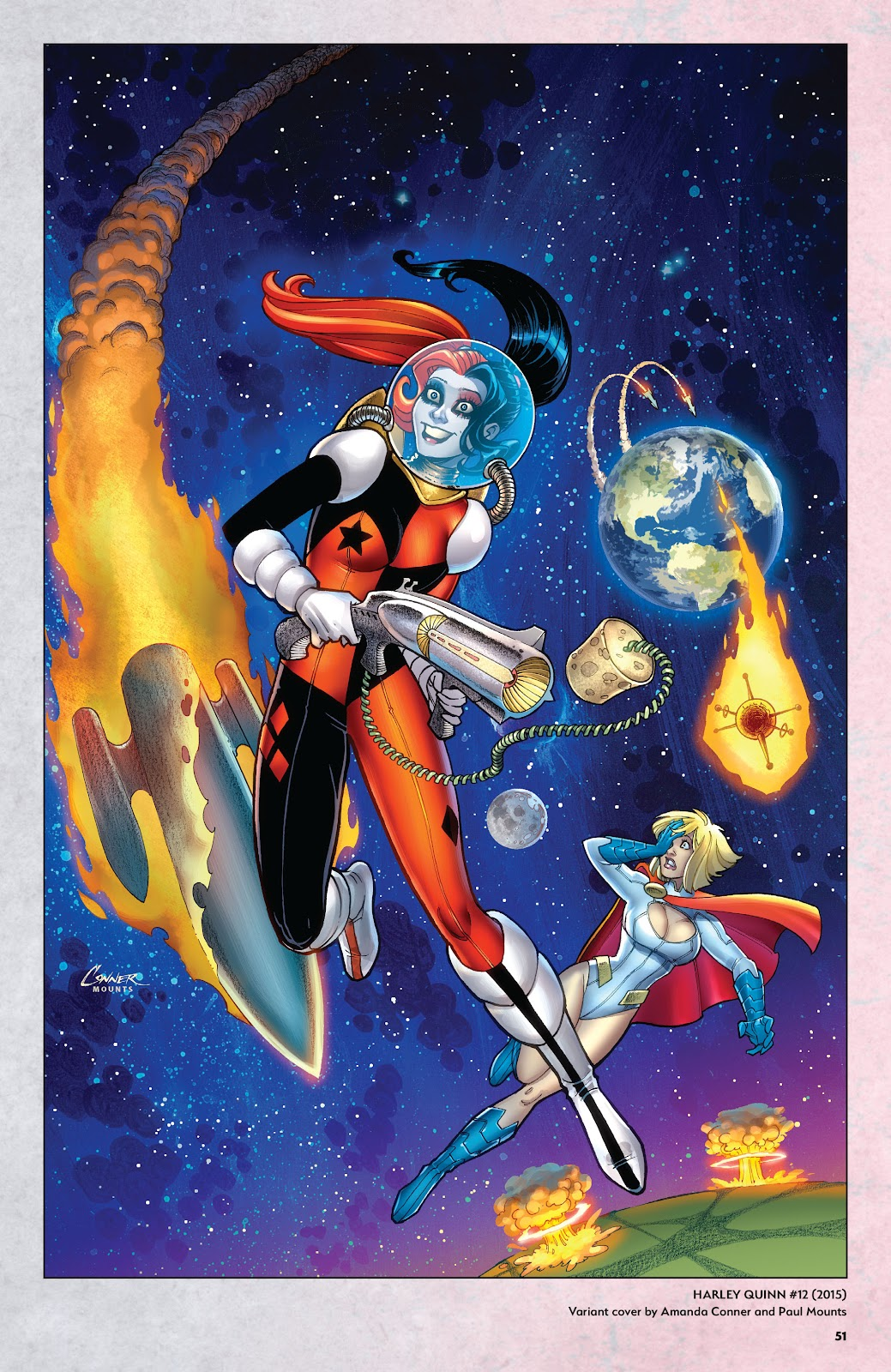 Read online Harley Quinn: A Rogue's Gallery―The Deluxe Cover Art Collection comic -  Issue # TPB (Part 1) - 49