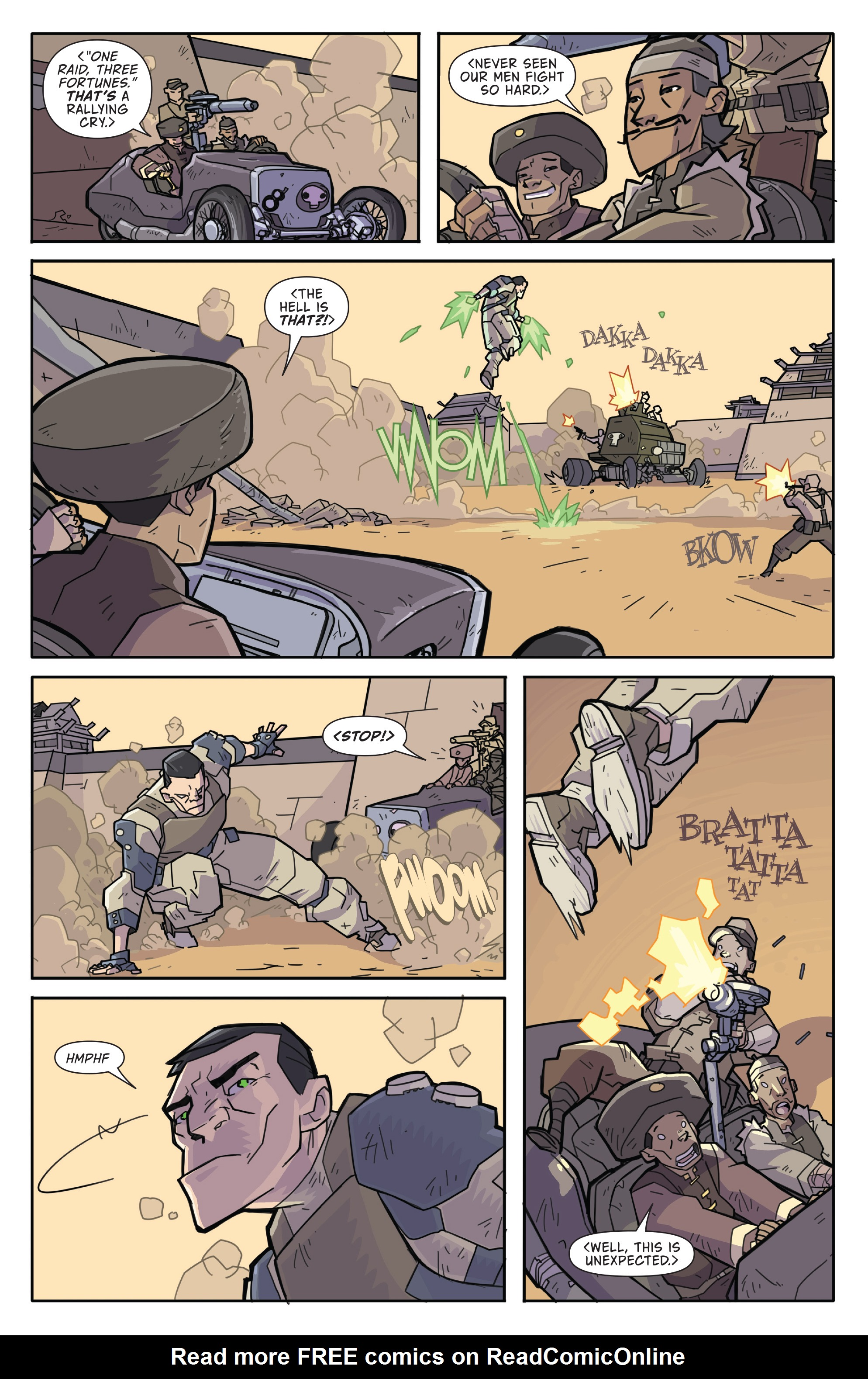 Read online Atomic Robo and the Temple of Od comic -  Issue #2 - 17