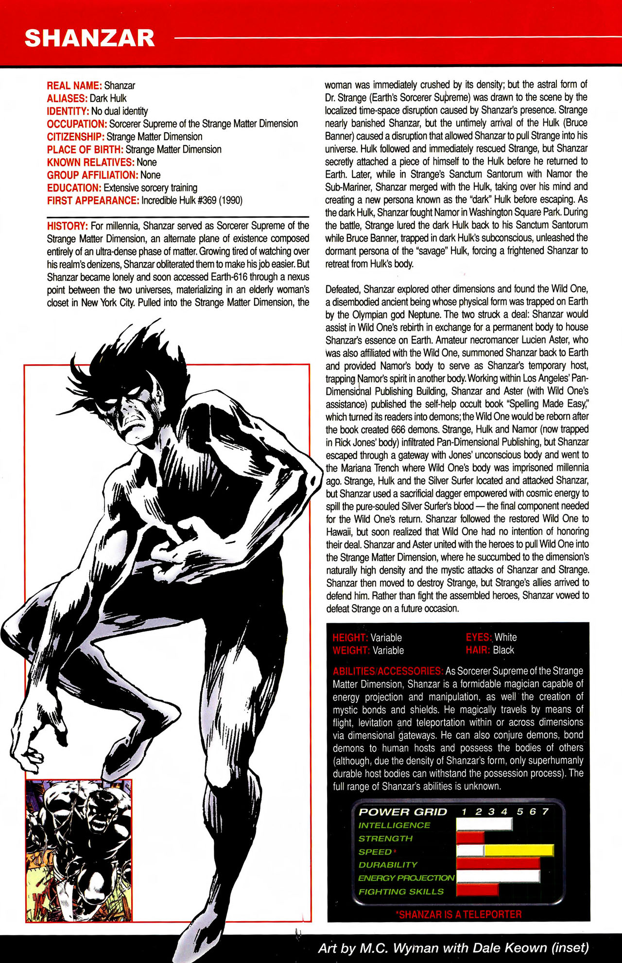 Read online All-New Official Handbook of the Marvel Universe A to Z comic -  Issue #10 - 4