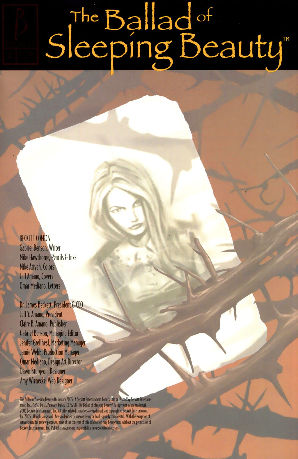Read online The Ballad of Sleeping Beauty comic -  Issue #6 - 35