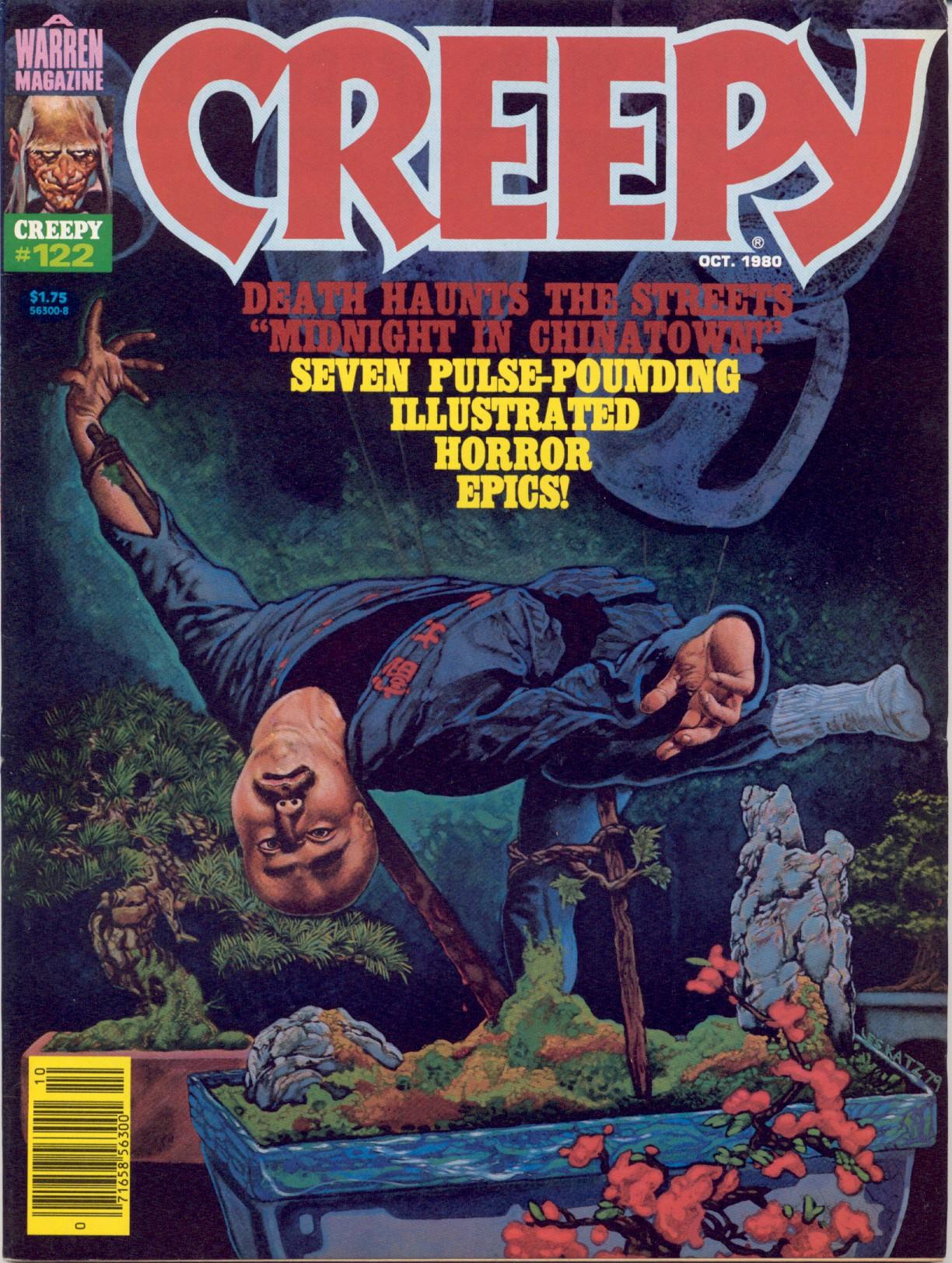 Creepy (1964) 122 Page 1