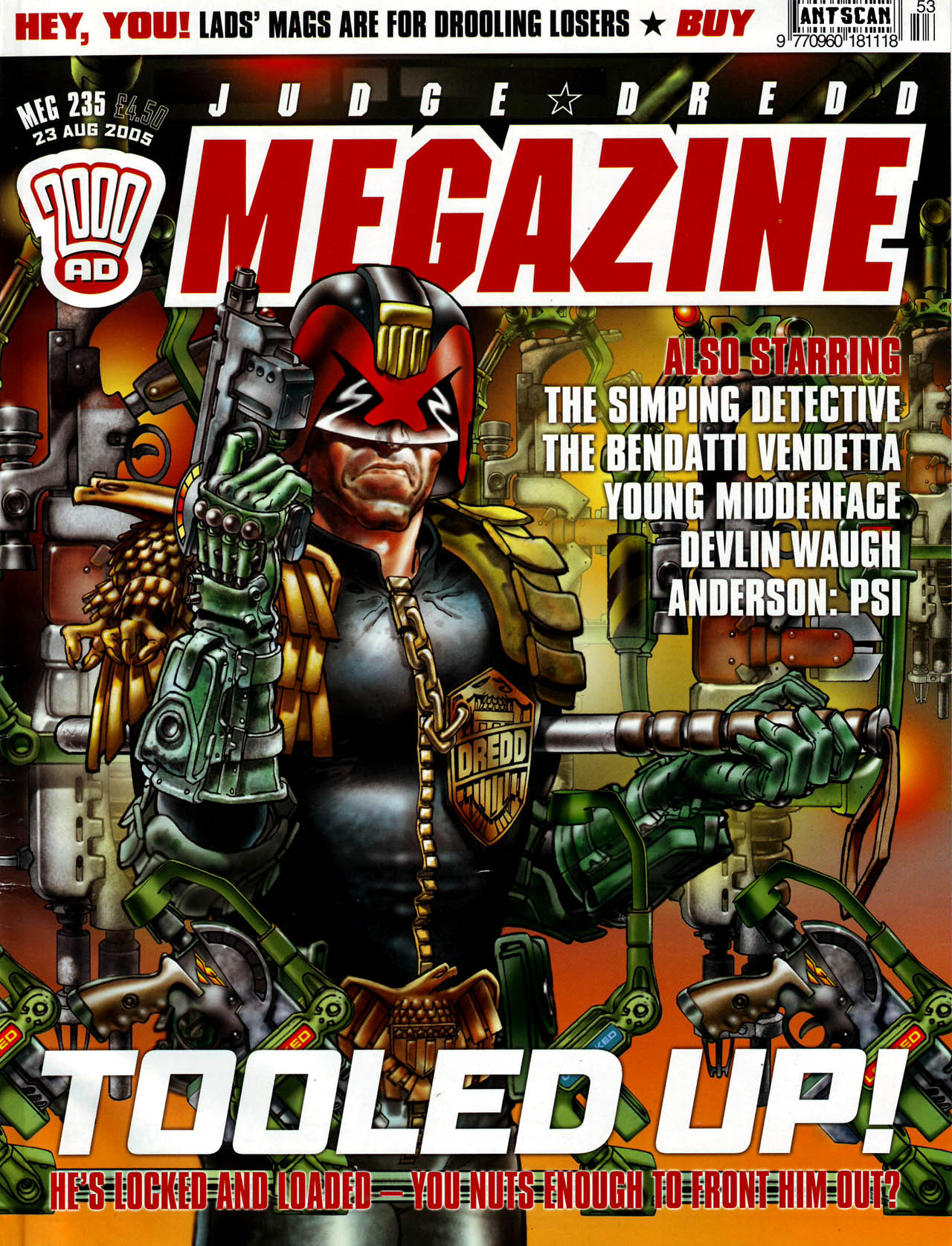 Judge Dredd Megazine (Vol. 5) 235 Page 1