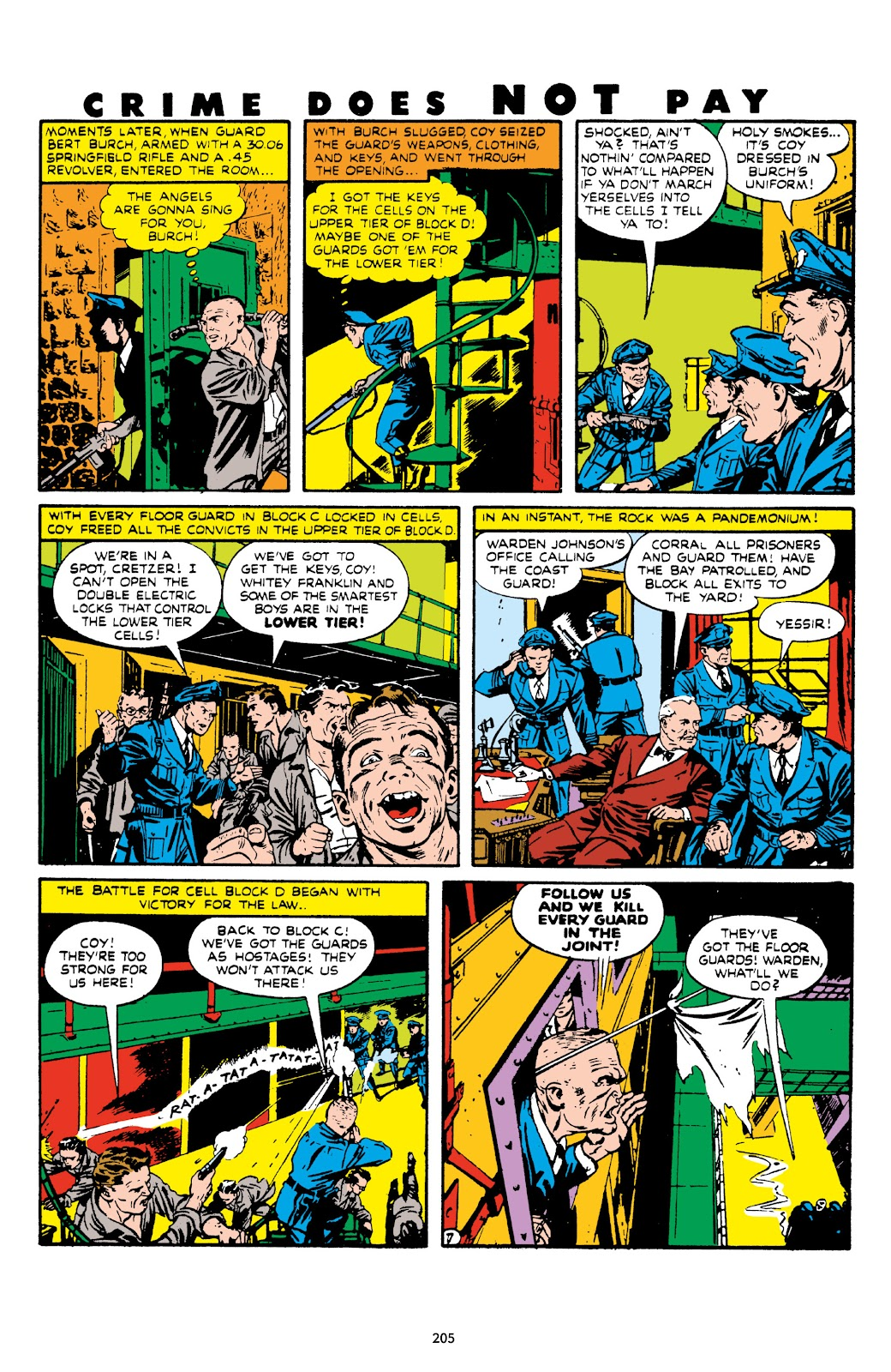 Read online Crime Does Not Pay Archives comic -  Issue # TPB 7 (Part 3) - 6