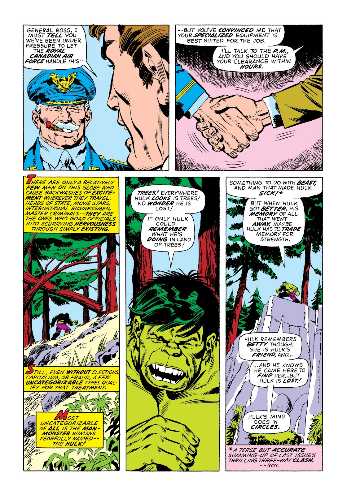 Read online Marvel Masterworks: The Incredible Hulk comic -  Issue # TPB 9 (Part 2) - 17