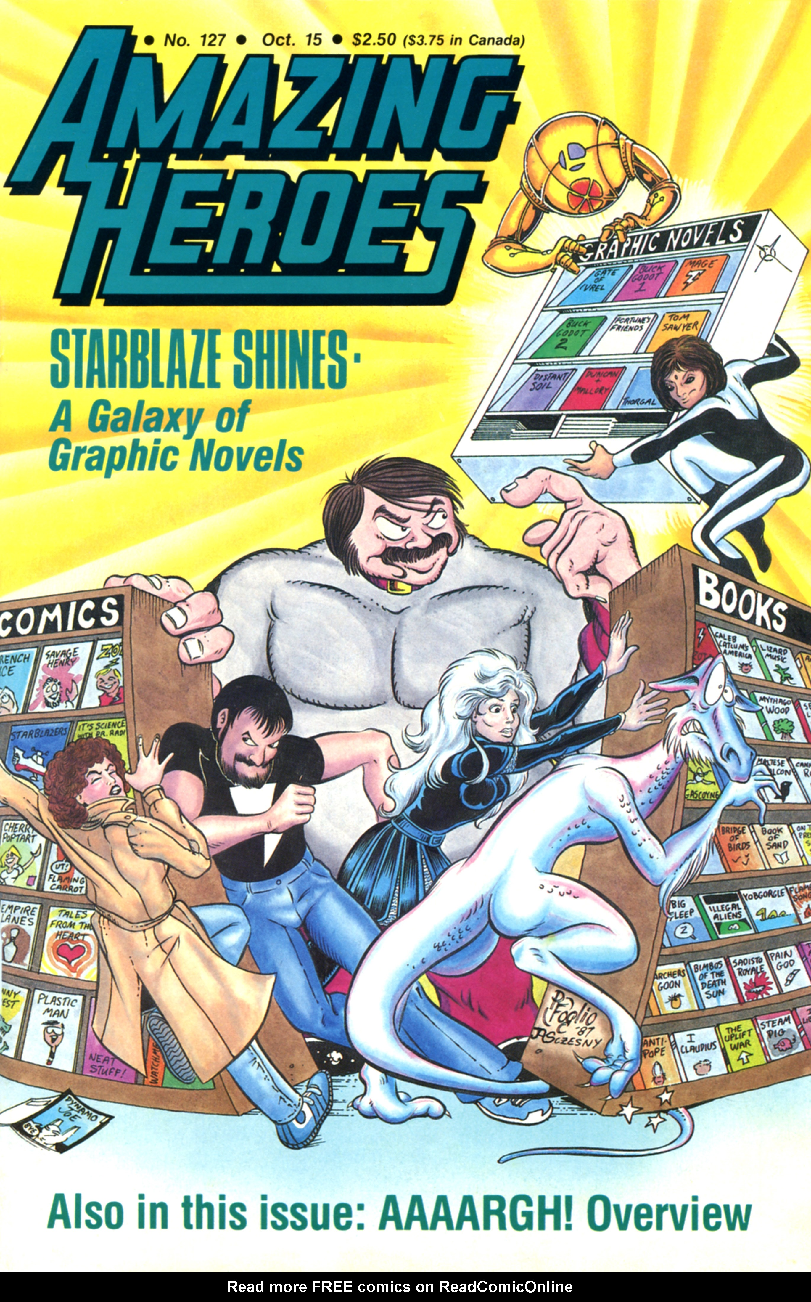 Read online Amazing Heroes comic -  Issue #127 - 1