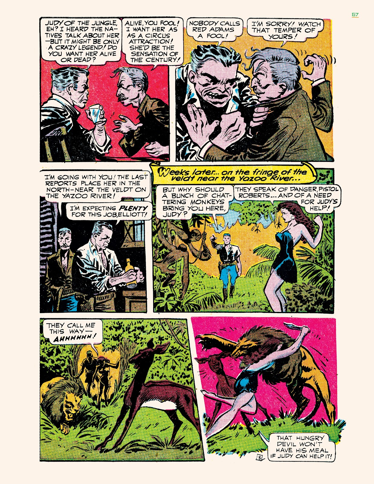 Read online Jungle Girls comic -  Issue # TPB (Part 1) - 67