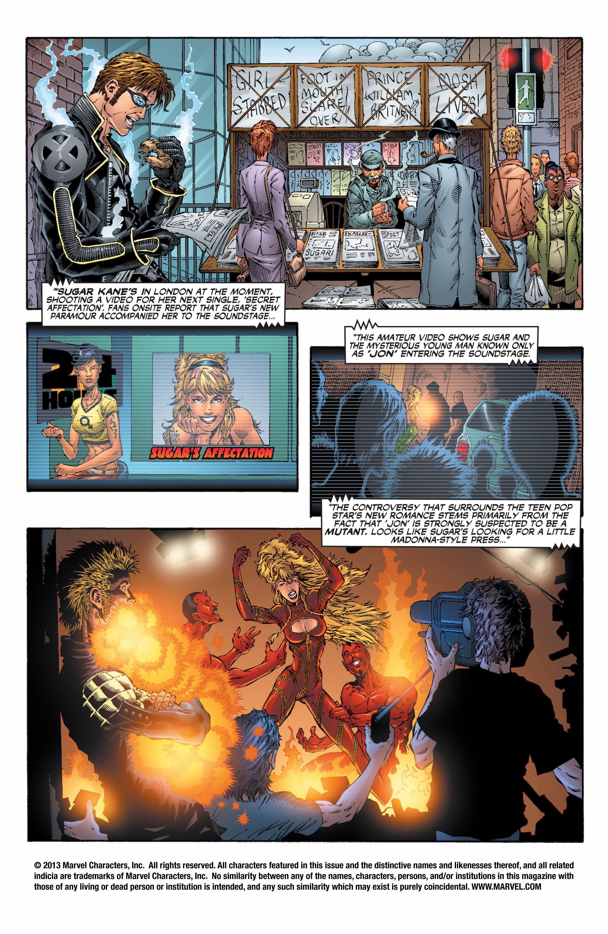 Read online Uncanny X-Men (1963) comic -  Issue #396 - 2