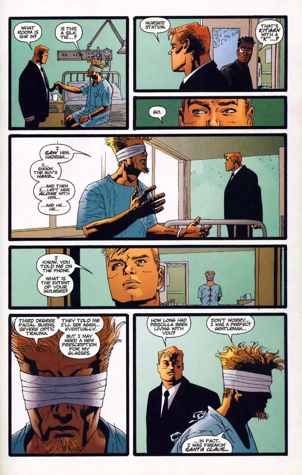 Wildcats (1999) Issue #17 #18 - English 7