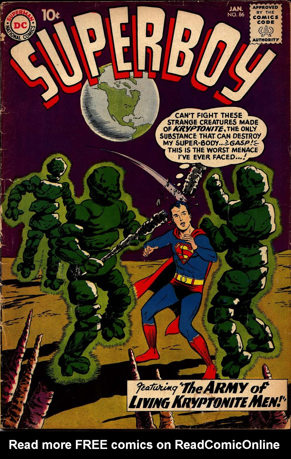 Superboy (1949) issue 86 - Page 1