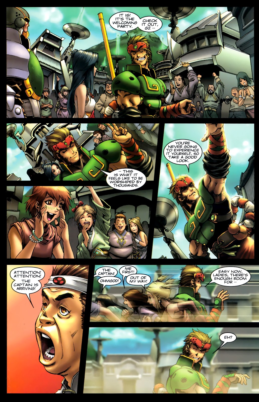 Read online Xin: Journey of the Monkey King comic -  Issue #1 - 6