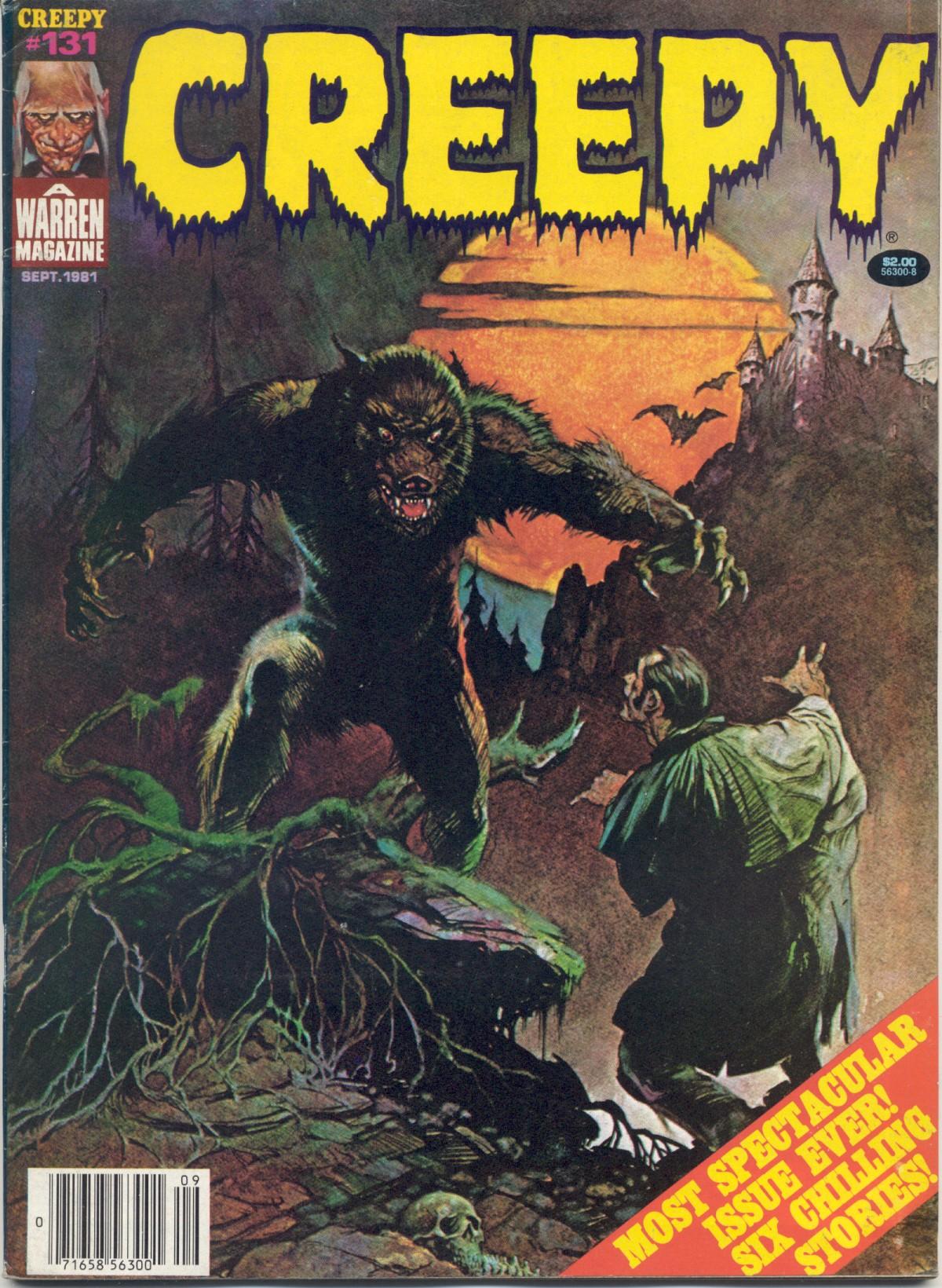 Creepy (1964) 131 Page 1