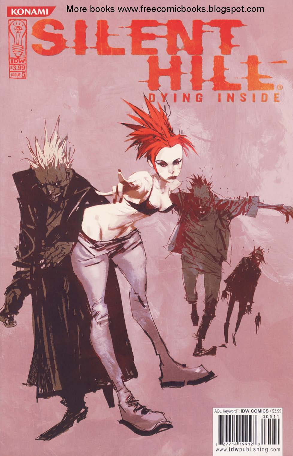 Read online Silent Hill: Dying Inside comic -  Issue #5 - 1
