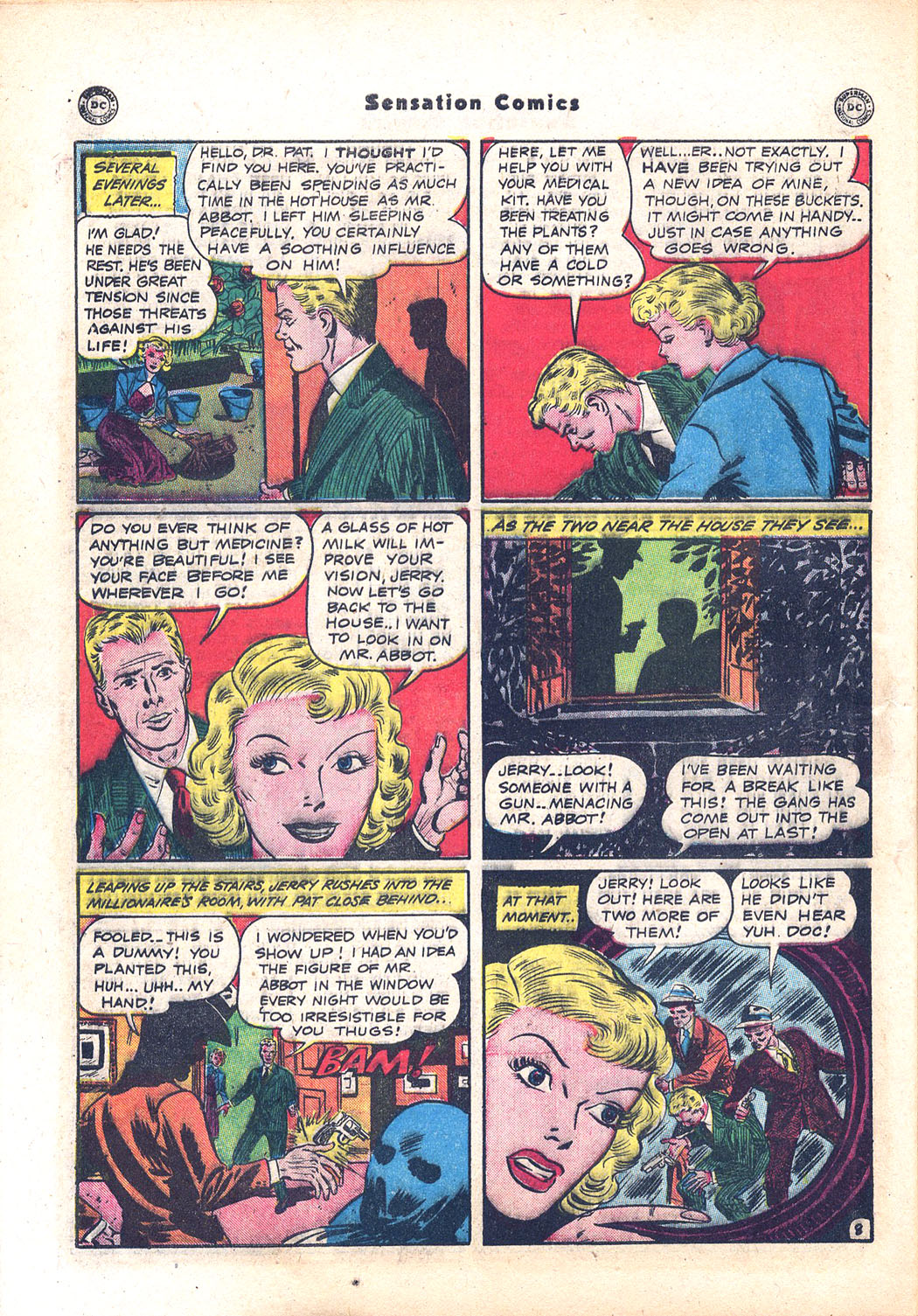 Read online Sensation (Mystery) Comics comic -  Issue #94 - 46