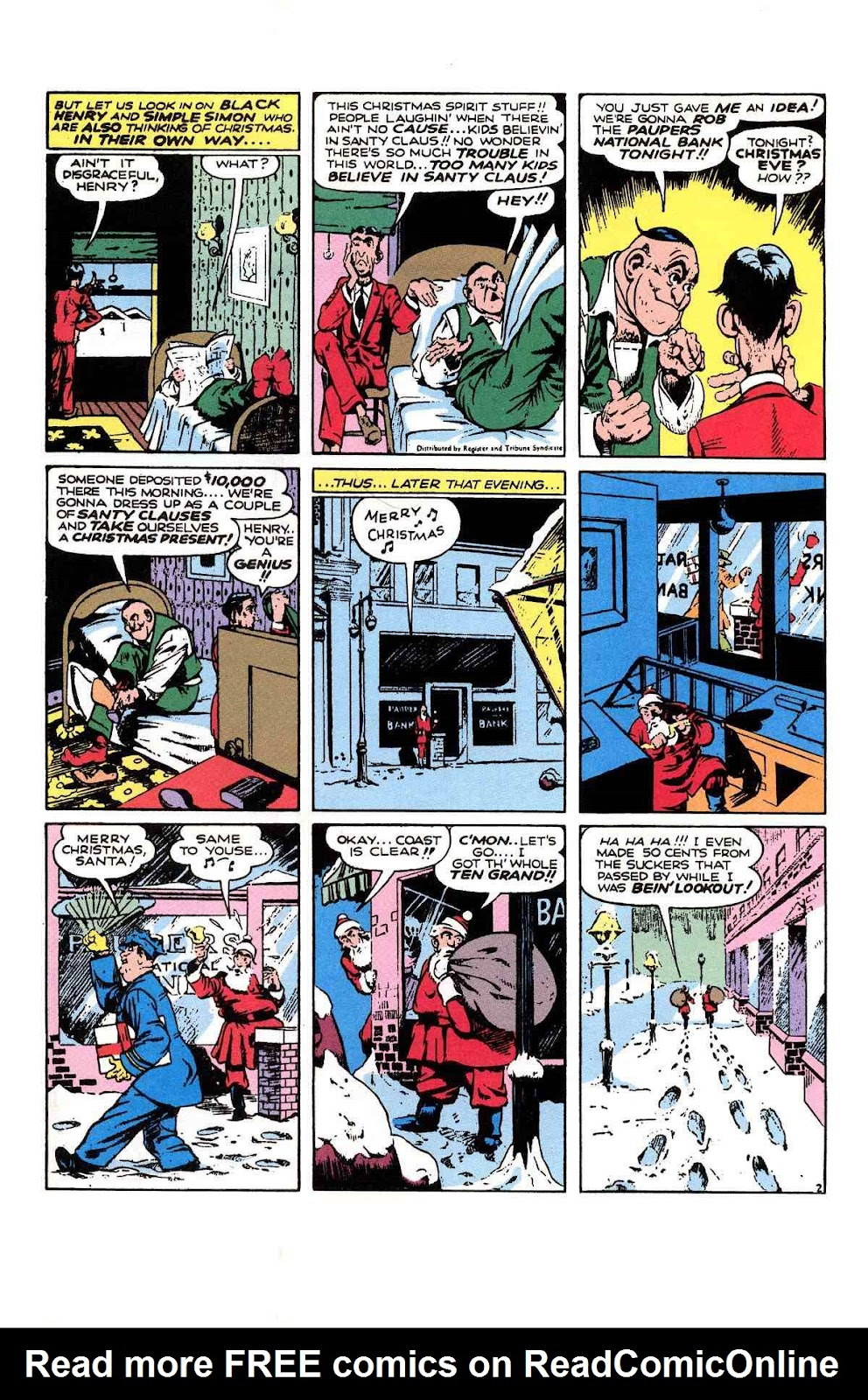 Read online Will Eisner's The Spirit Archives comic -  Issue # TPB 1 (Part 3) - 6