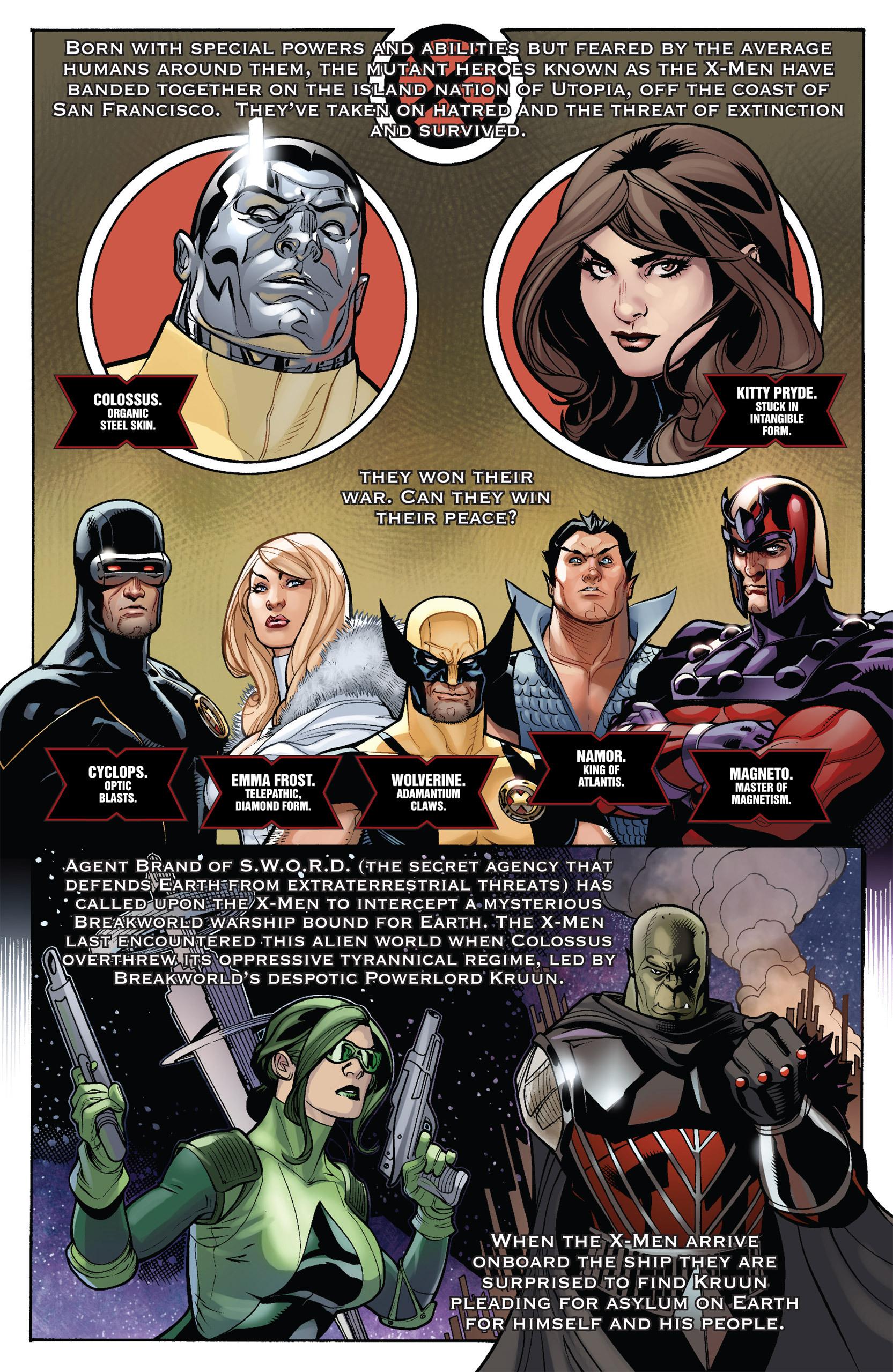 Read online Uncanny X-Men (1963) comic -  Issue #536 - 2