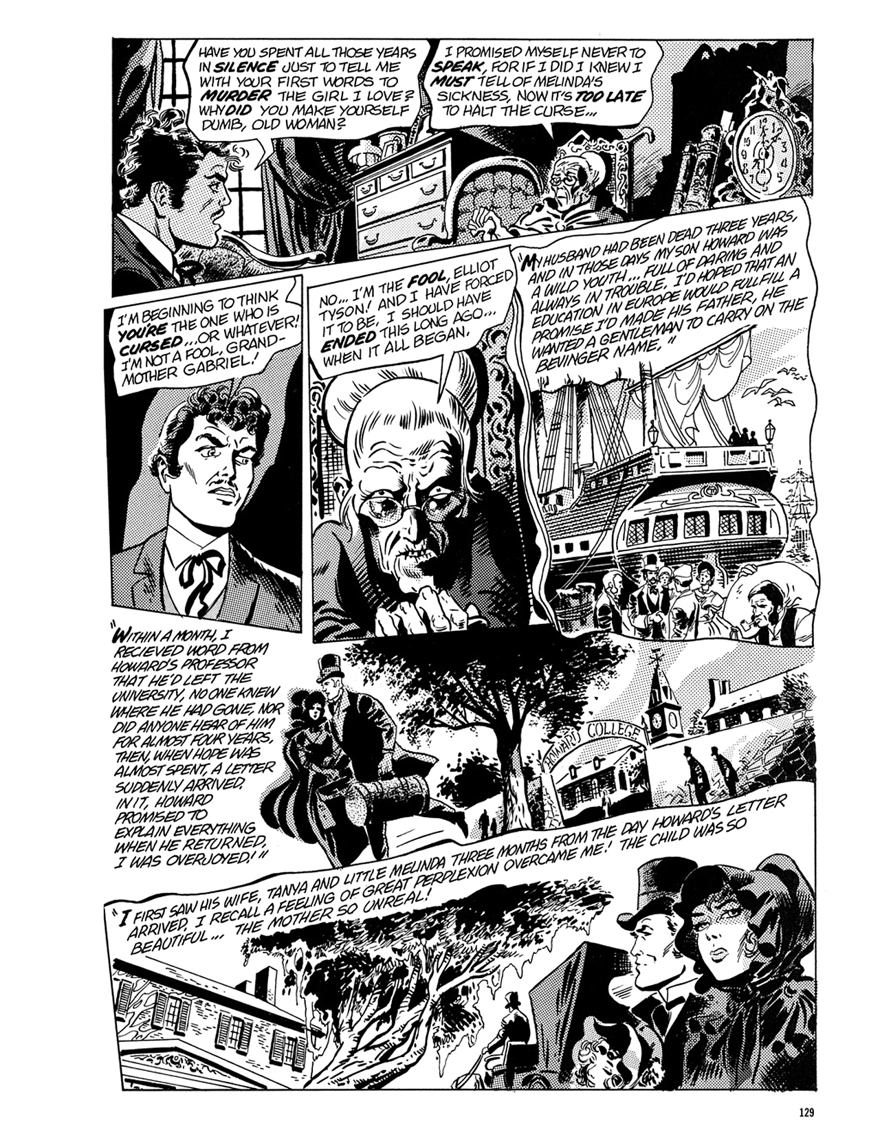Read online Eerie Archives comic -  Issue # TPB 5 - 130