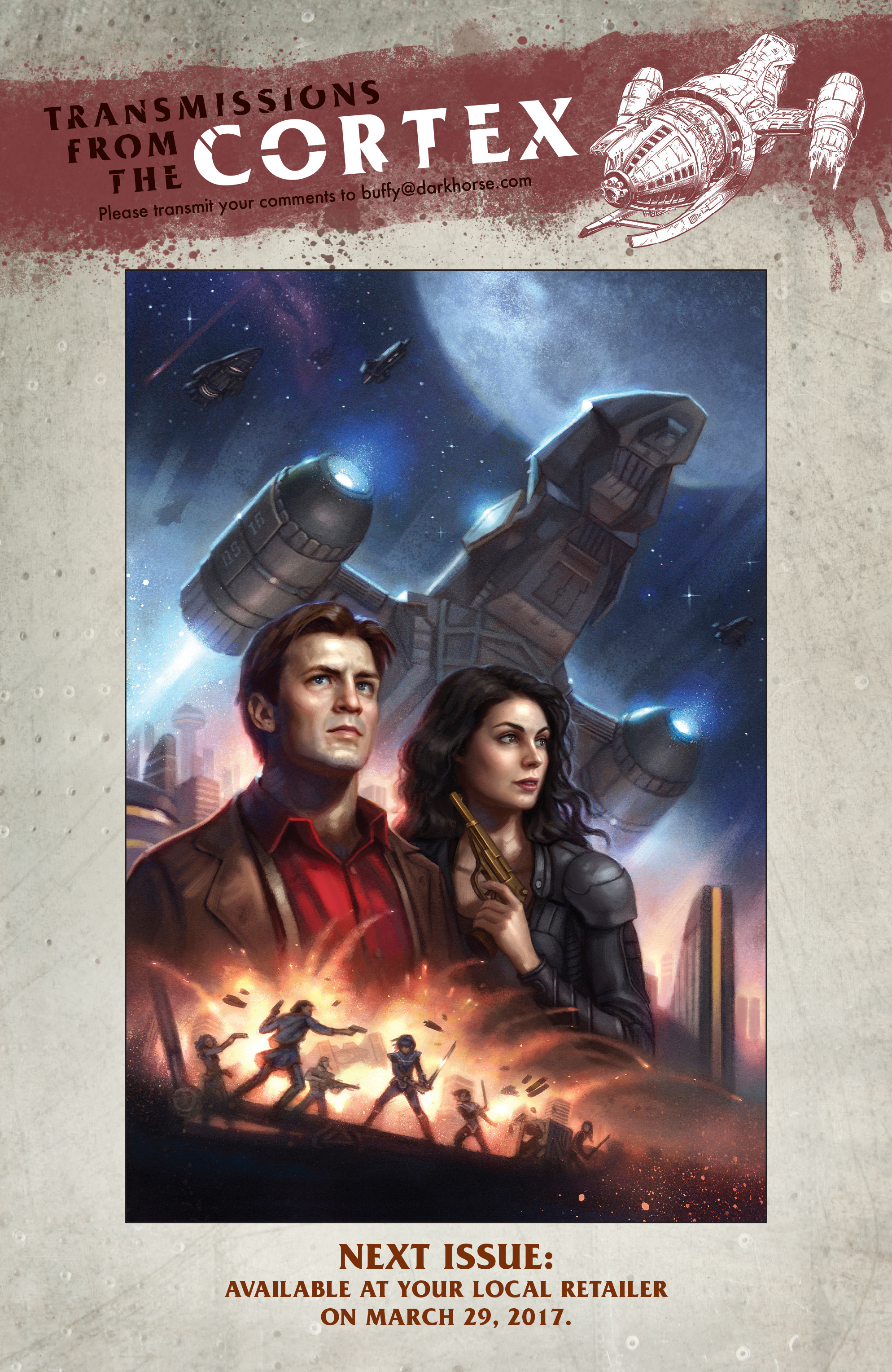 Read online Serenity: Firefly Class 03-K64 – No Power in the 'Verse comic -  Issue #5 - 24