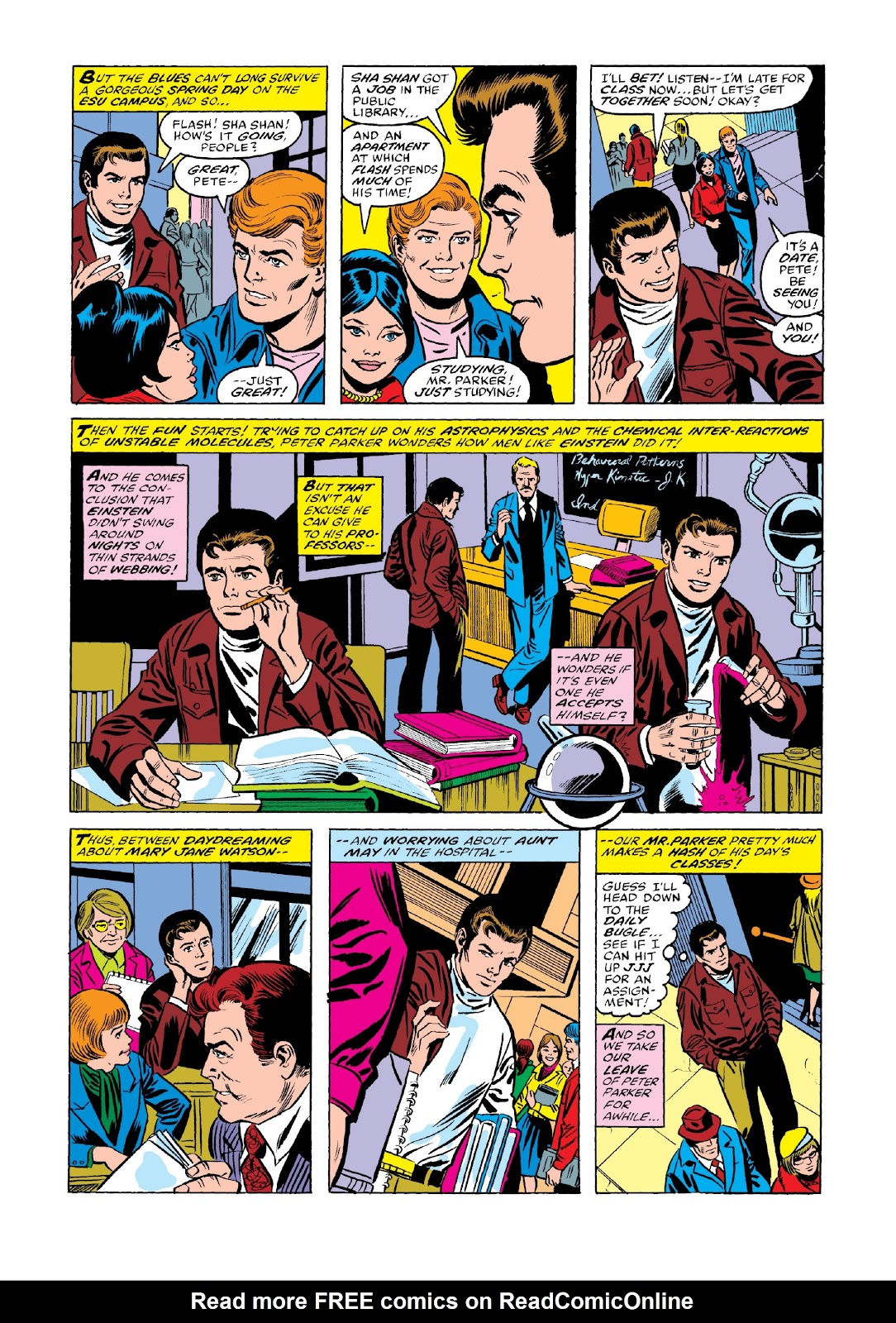 Read online Marvel Masterworks: The Spectacular Spider-Man comic -  Issue # TPB 2 (Part 2) - 7
