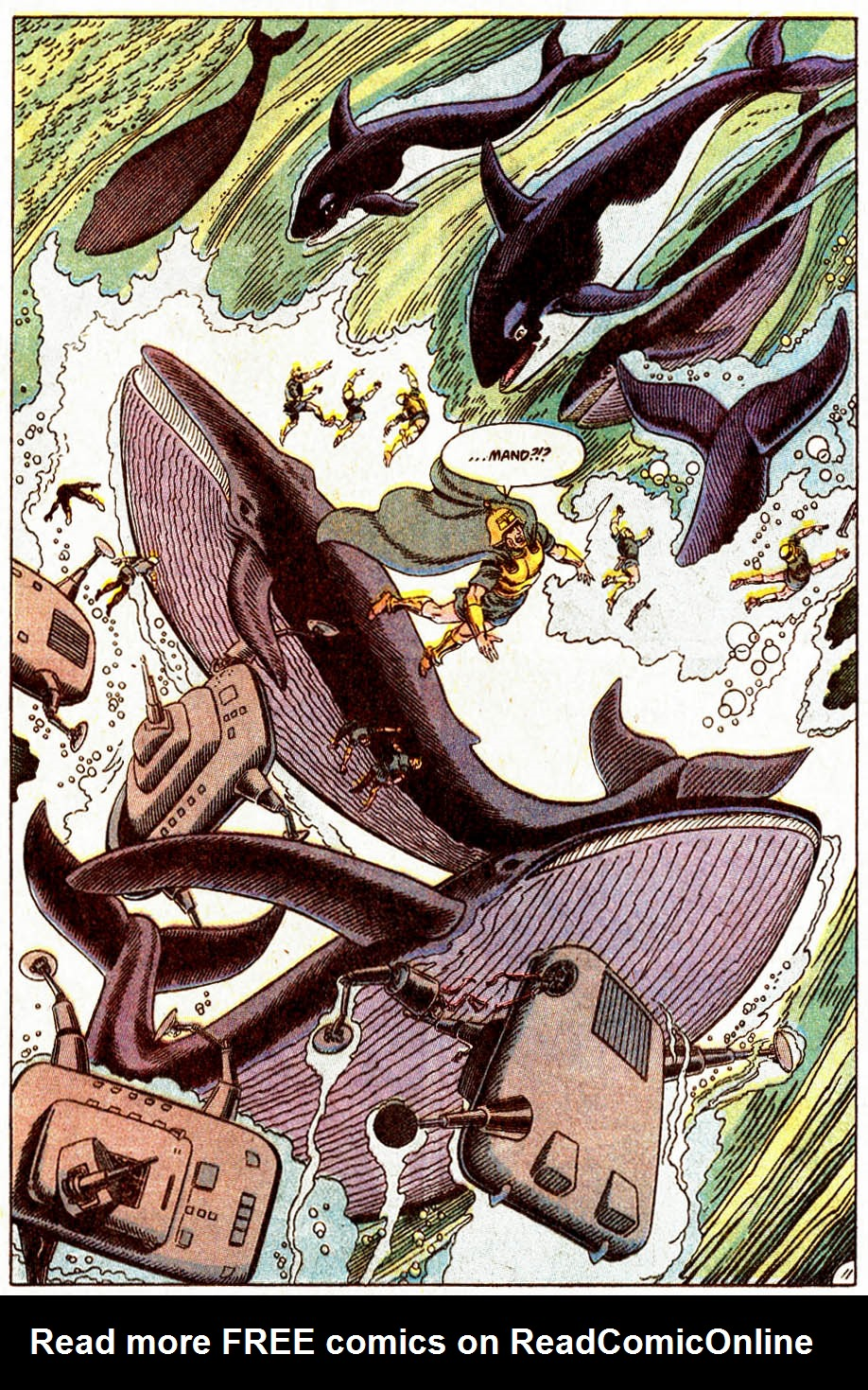 Read online Aquaman (1989) comic -  Issue #5 - 12