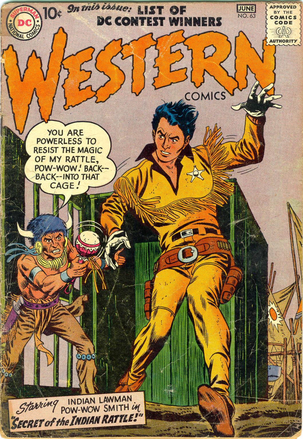 Western Comics 63 Page 1