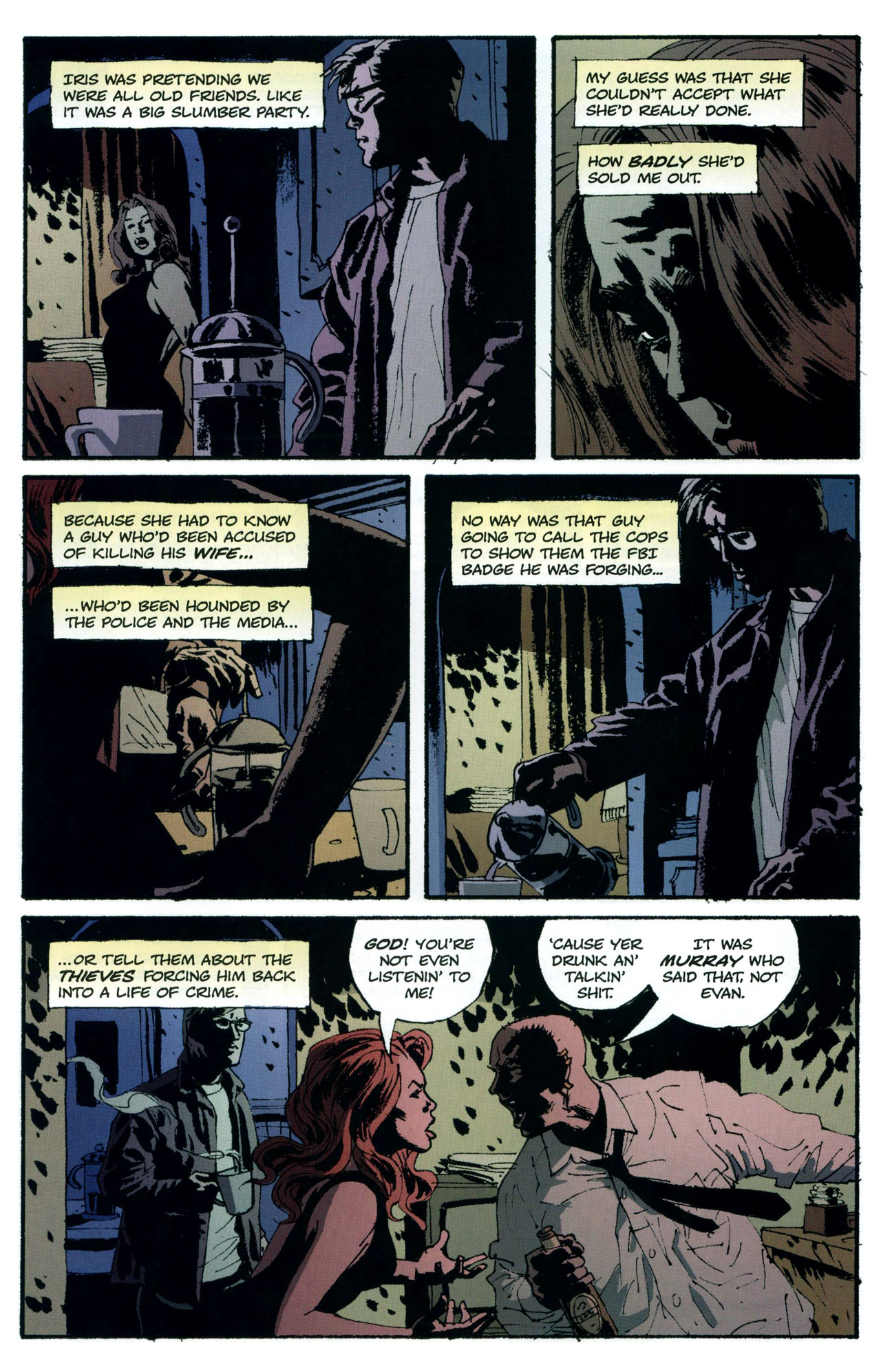 Read online Criminal (2008) comic -  Issue #5 - 7