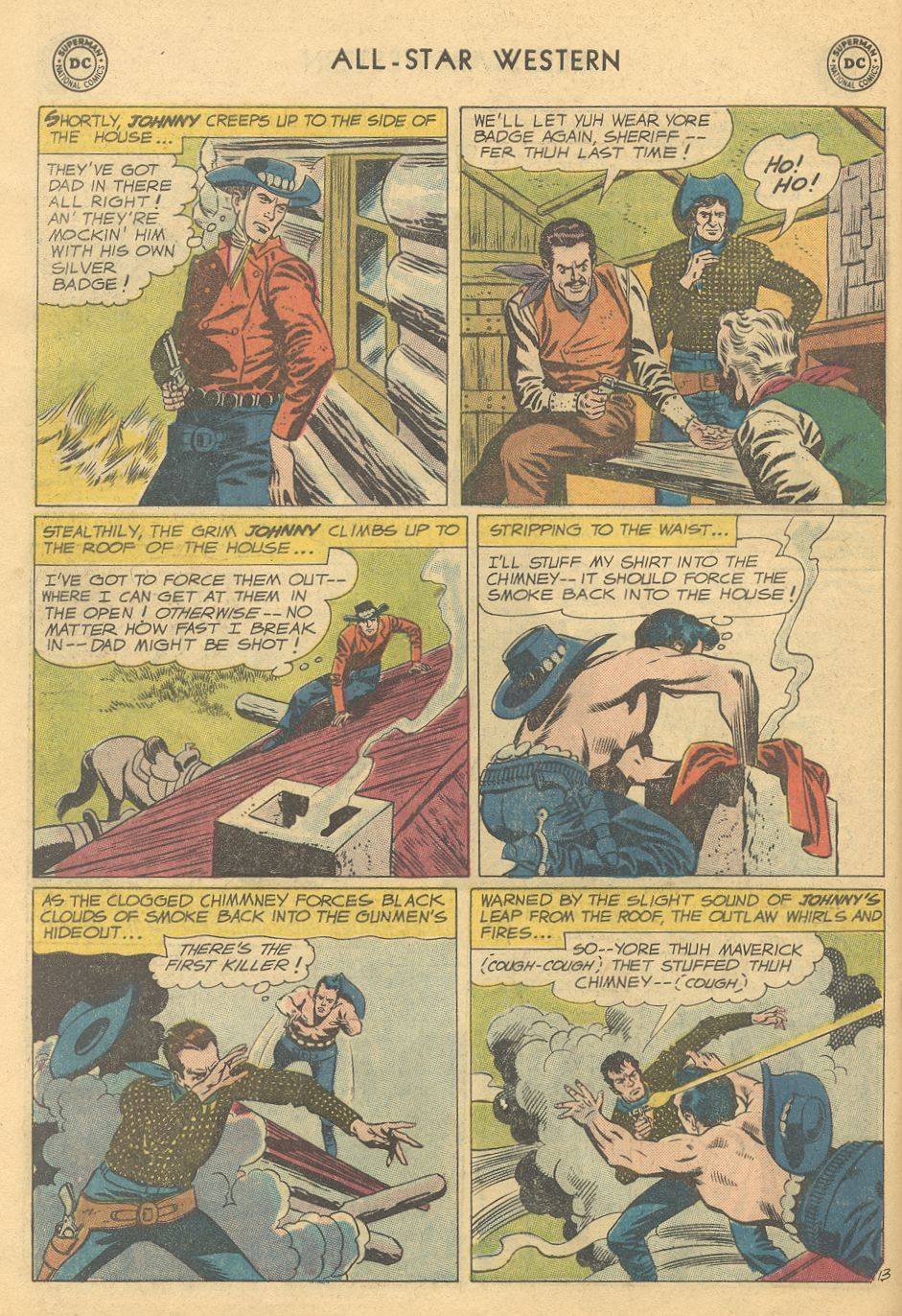 Read online All-Star Western (1951) comic -  Issue #108 - 18