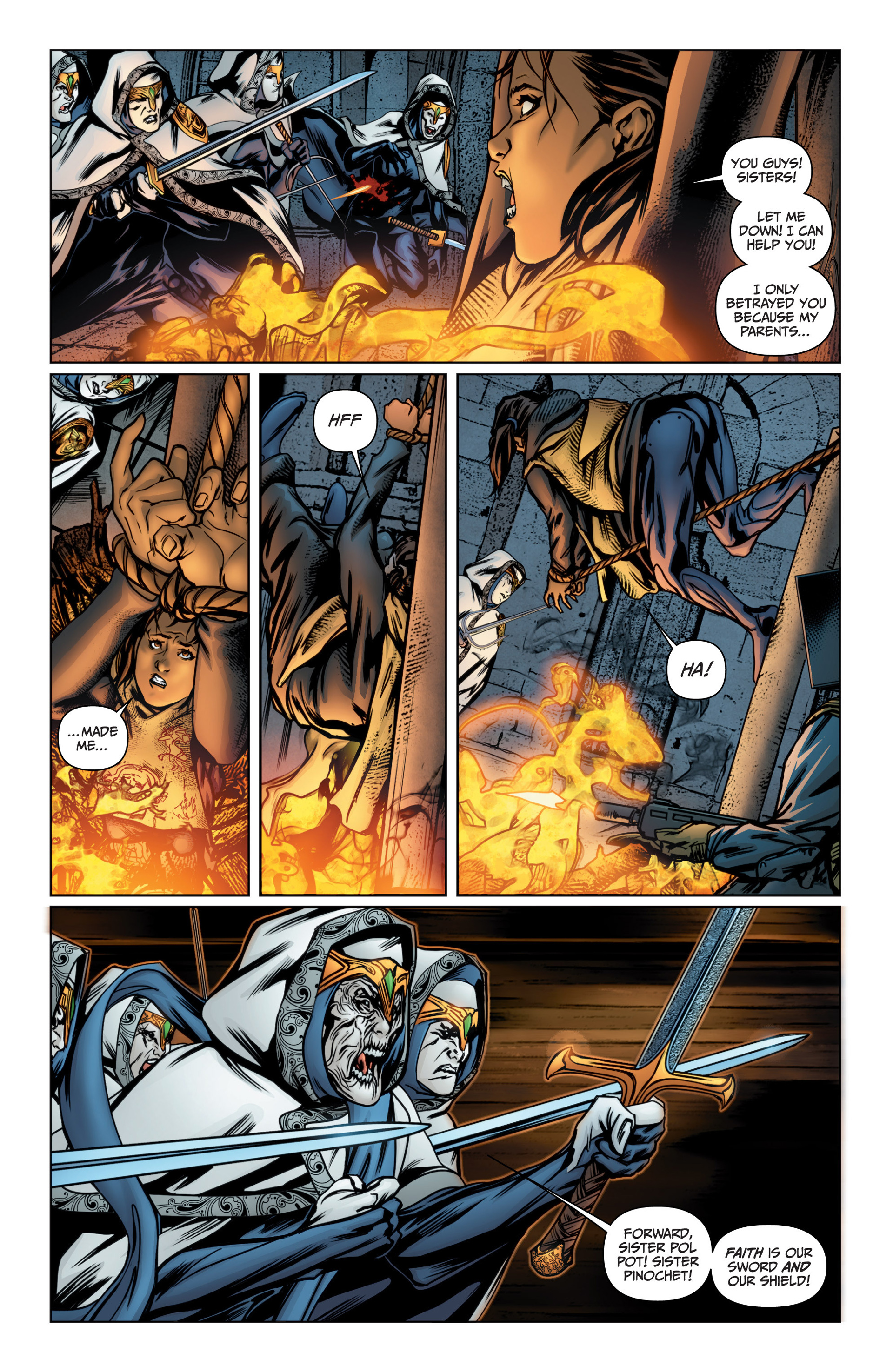 Read online Archer and Armstrong comic -  Issue #16 - 8