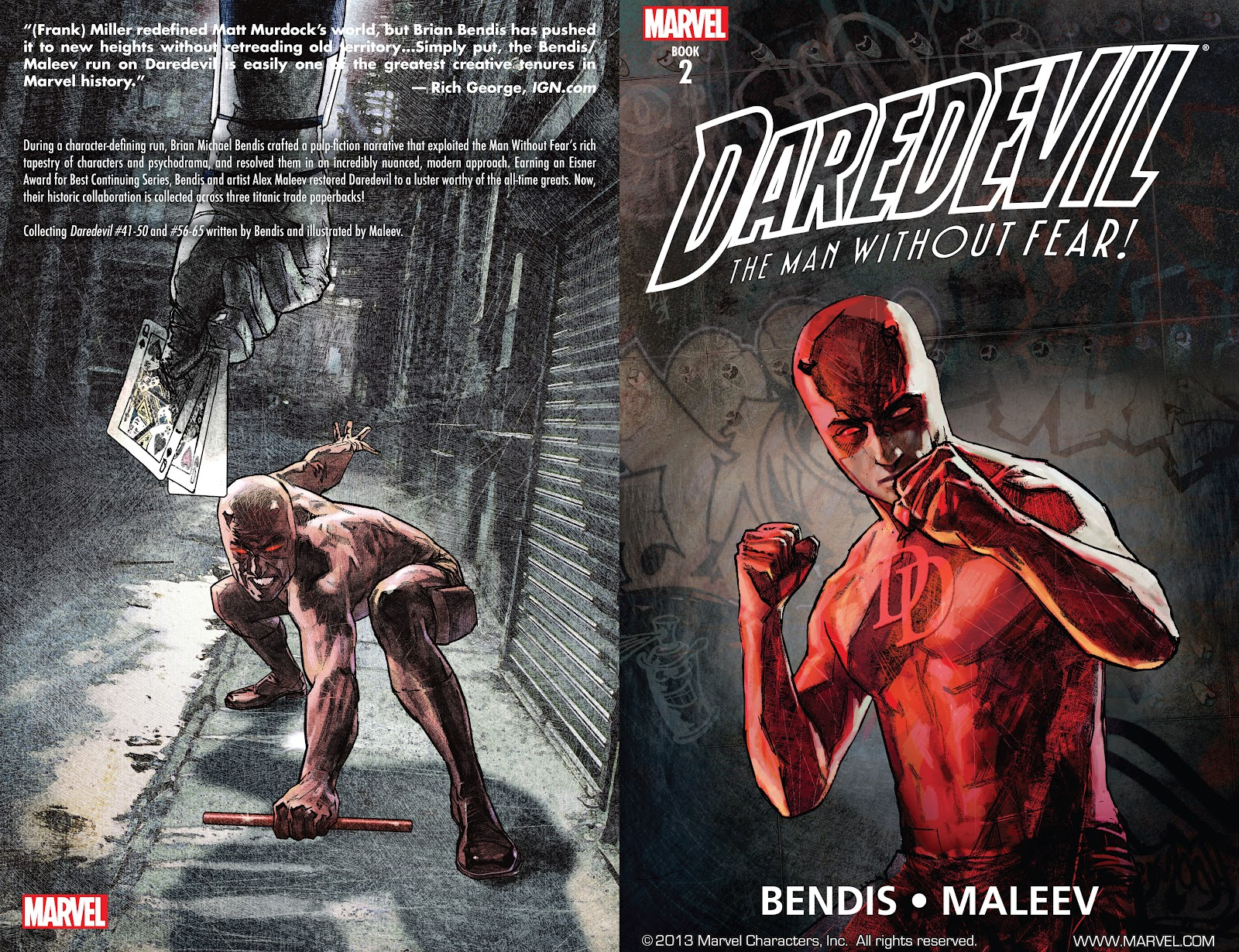 Read online Daredevil (1998) comic -  Issue # _Ultimate_Collection TPB 2 (Part 1) - 2