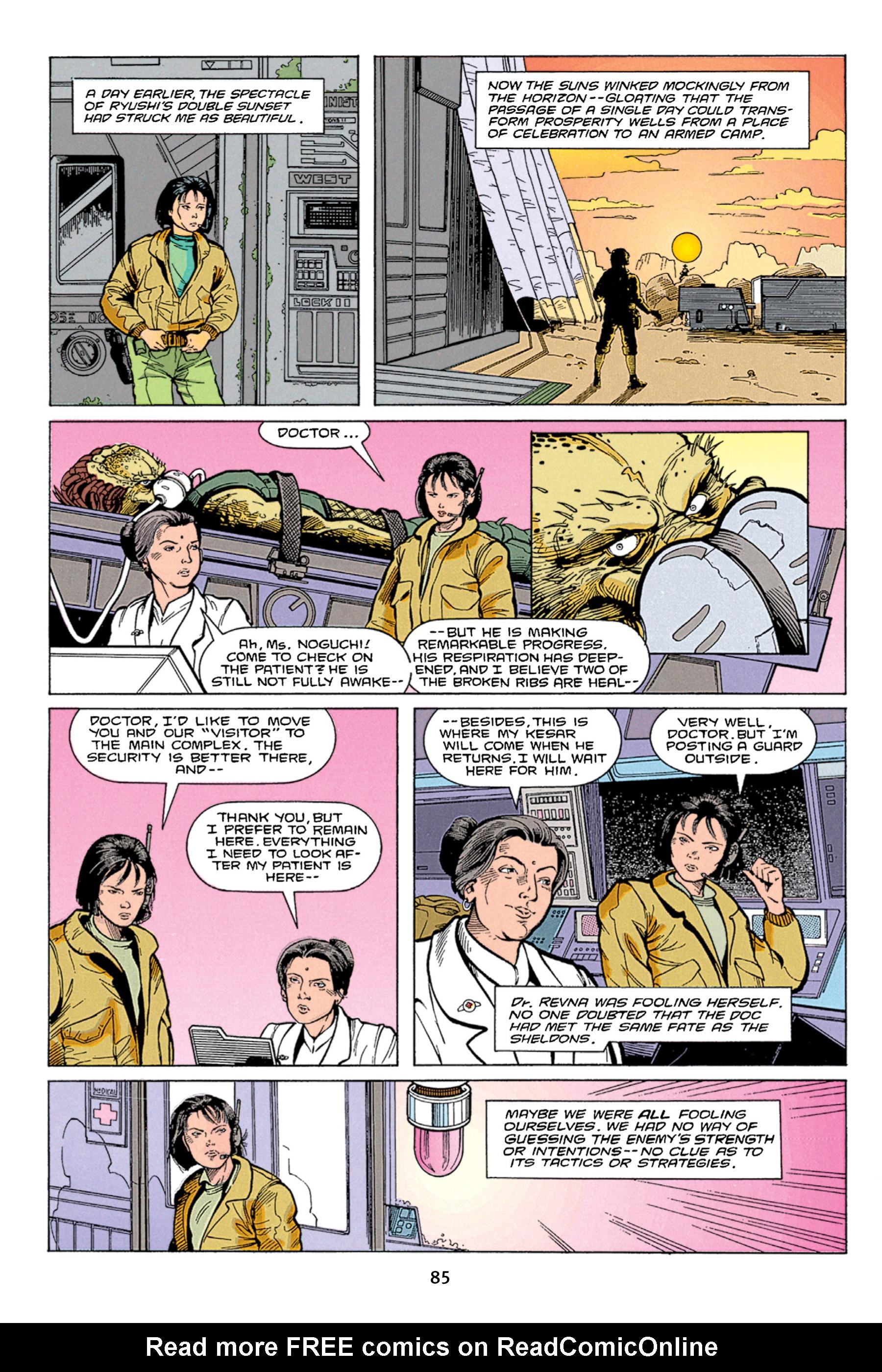Read online Aliens vs. Predator Omnibus comic -  Issue # _TPB 1 Part 1 - 85