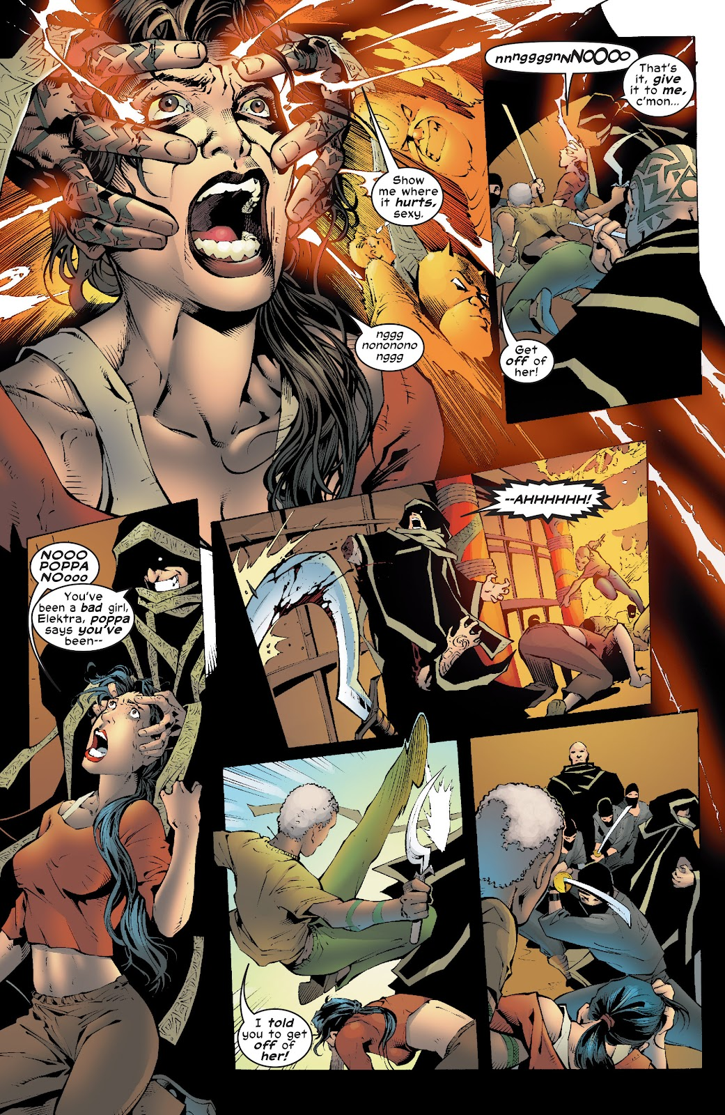 Read online Elektra (2001) comic -  Issue # _TPB Elektra by Greg Rucka Ultimate Collection (Part 4) - 39