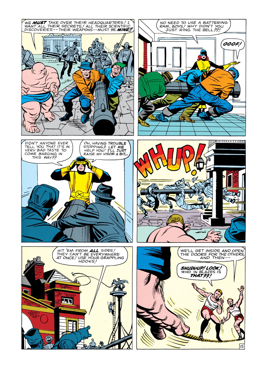 Read online Uncanny X-Men (1963) comic -  Issue #3 - 16